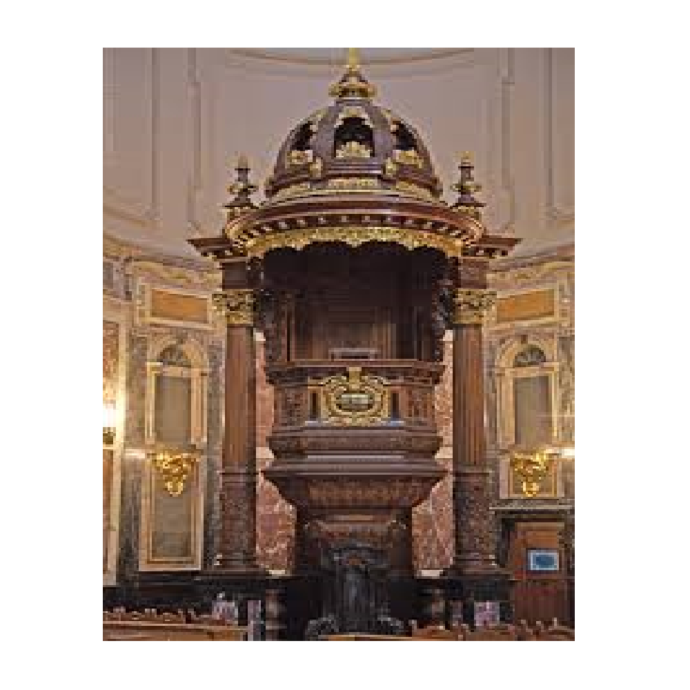 Pulpit, Berlin Cathedral