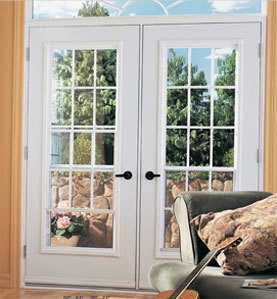 GARDEN DOORS - Let the sun shine in and add some additional elegance to an entry door, garden door or patio door with a custom transom. Ask us for details. Everything is custom made from the shape, size, type of glass.