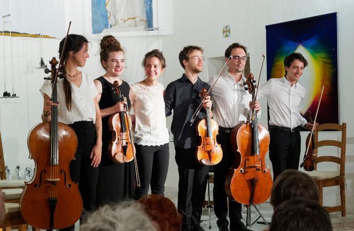 Les jeunes musiciens  Isabelle de Rouville