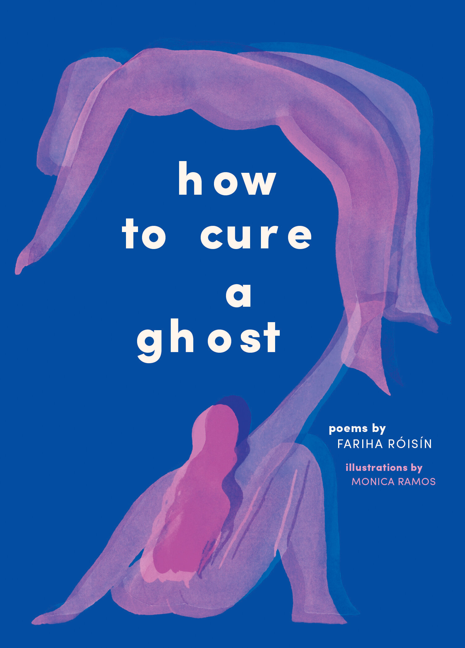 """- How To Cure A Ghost (Abrams, 2019) is Róisín's debut Poetry Collection.It explores shame, ancestral trauma and violence—weaving in Róisin's personal experience of abuse at the hands of her mother, while also being trapped in a body, time and era where she's being forced to confront the many things that have haunted her. The """"ghost"""" she attempts to cure stands for many things: white supremacy, her mother, the patriarchy, Islamophobia, unkindness, her ancestors… Ultimately, it's a book about survival, dedicated to survivors.Buy it here."""