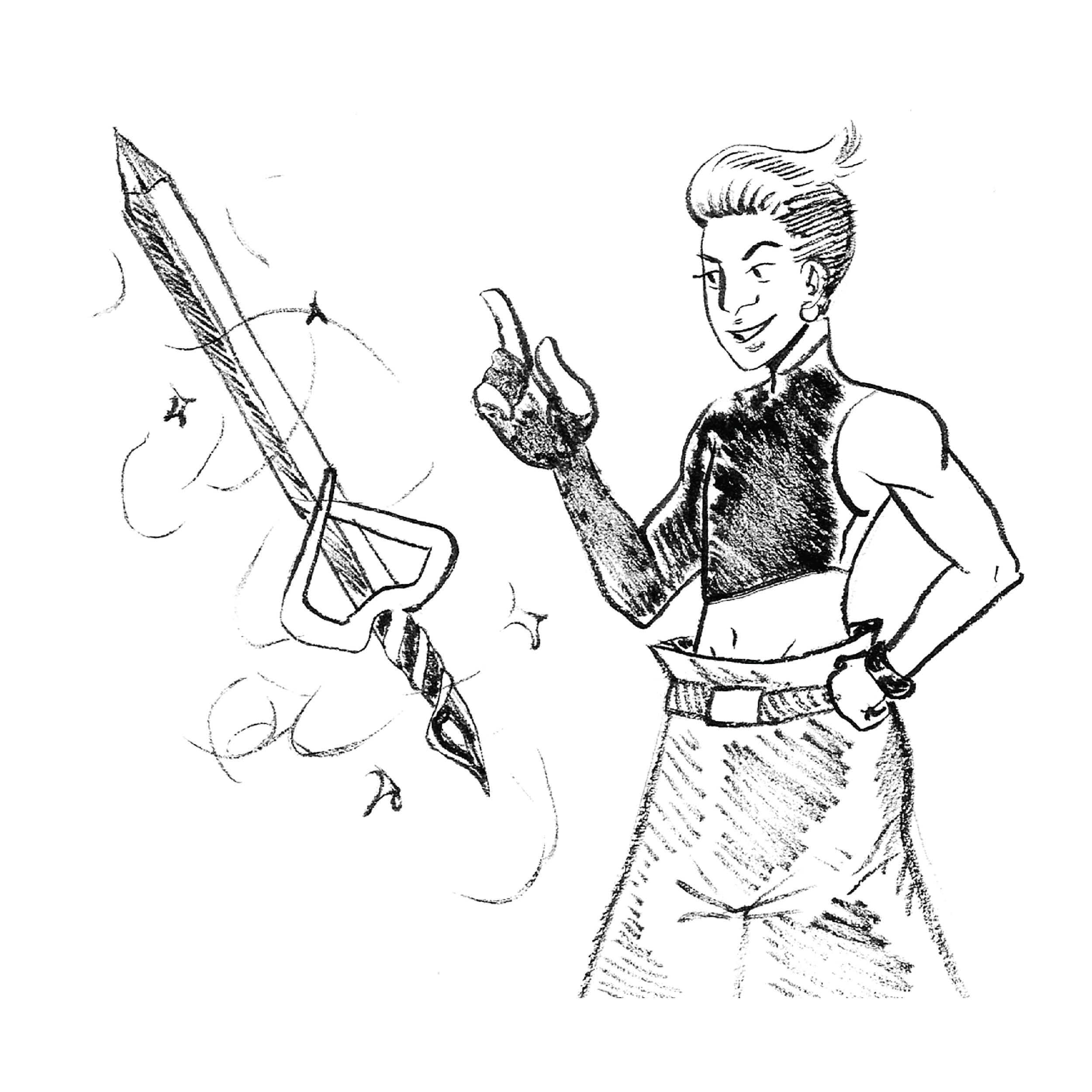 Summoned Sword