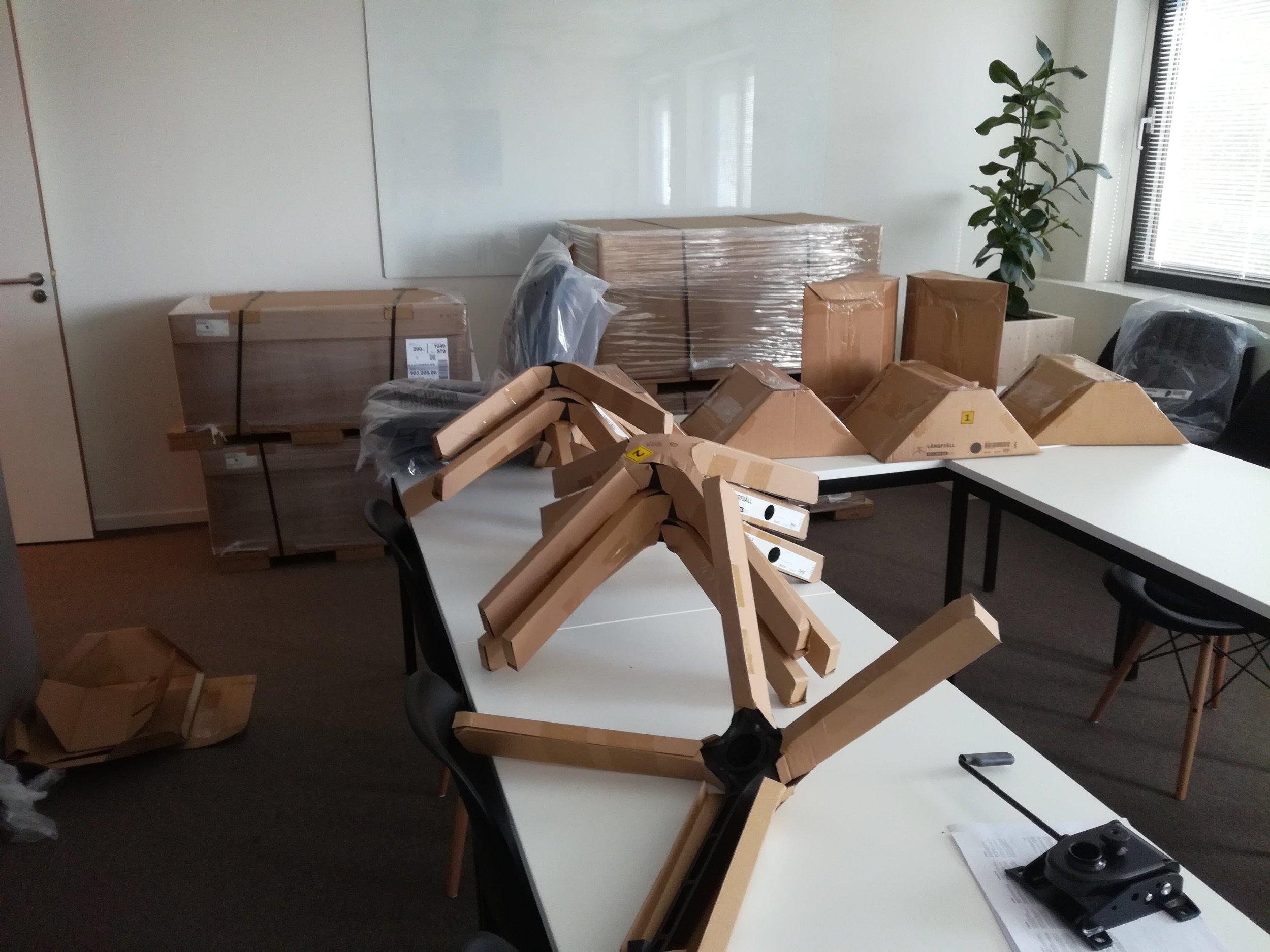 Montage ikea stoelen