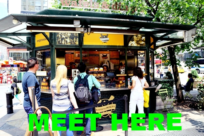 Meeting Point: Waffles & Dinges  Outside Macy's in Herald Square Park (35th Street between Broadway & 6th Avenue)