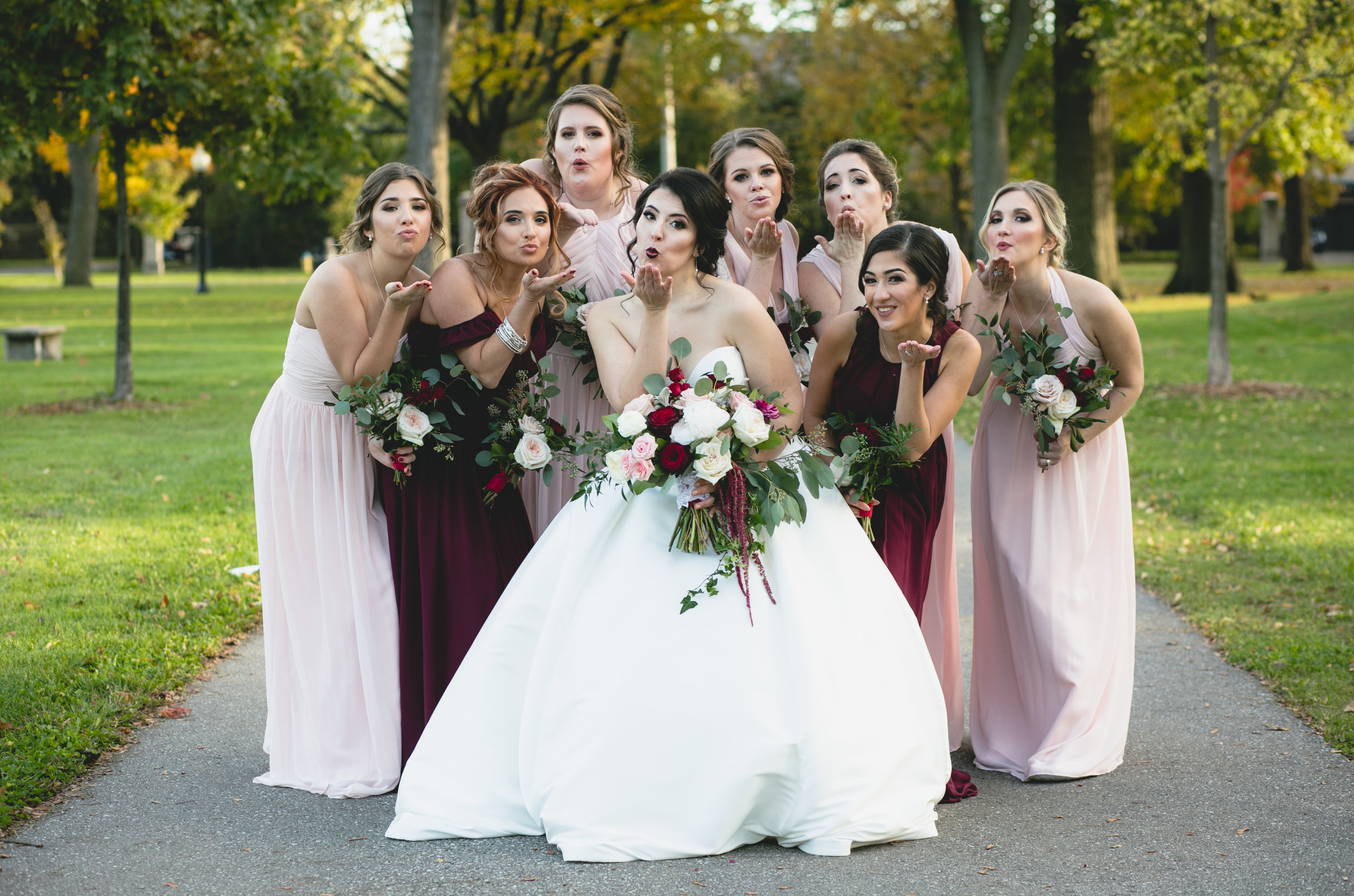 """I saw my wedding photos and burst into tears, I love them!"" - Samantha Rossi"