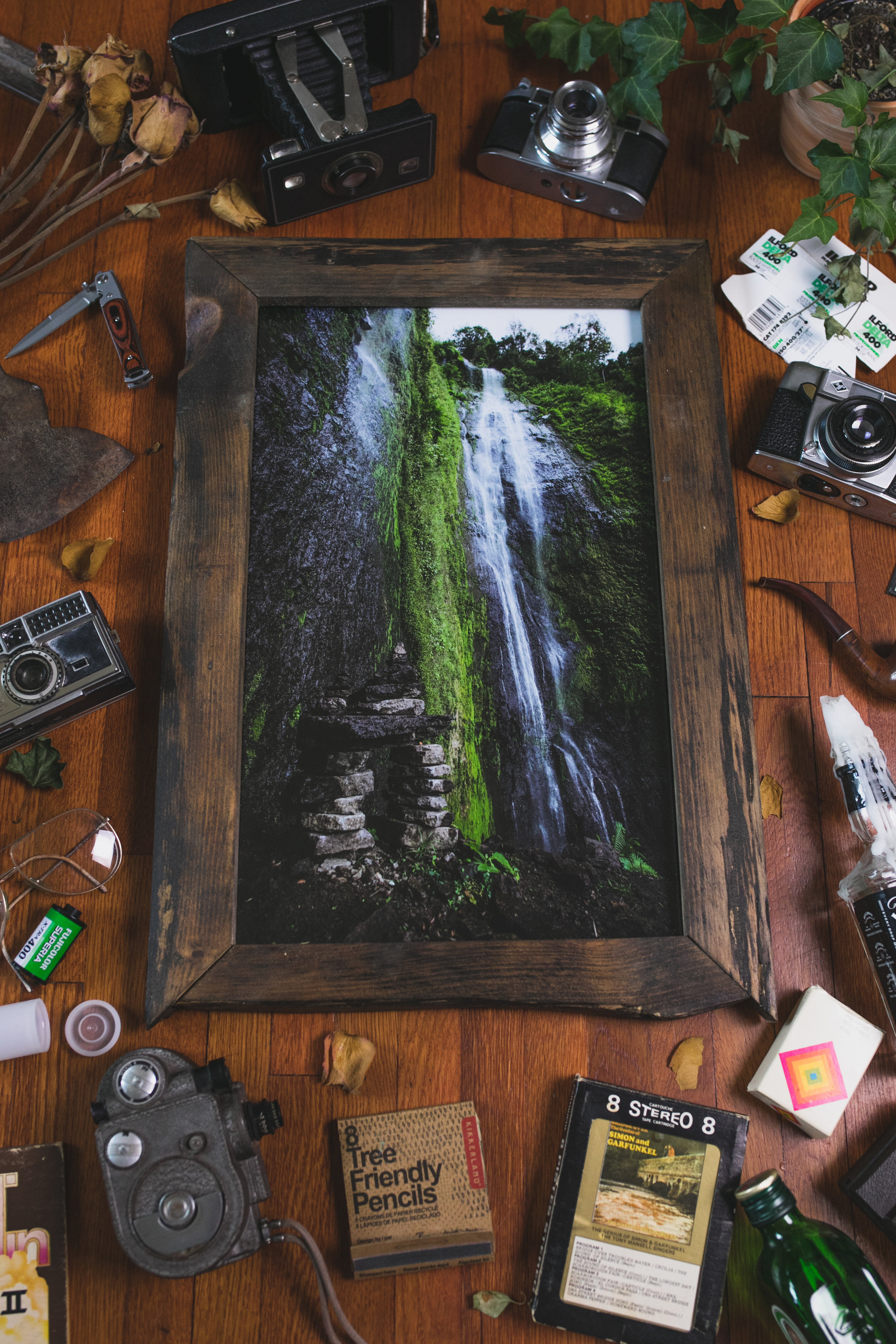 """I absolutely love my waterfall piece that I got from Anthony's art show. Everyday when I look at it I smile a huge smile!! Beautiful photos and frames  Anthony !"" - Jodie Brown"