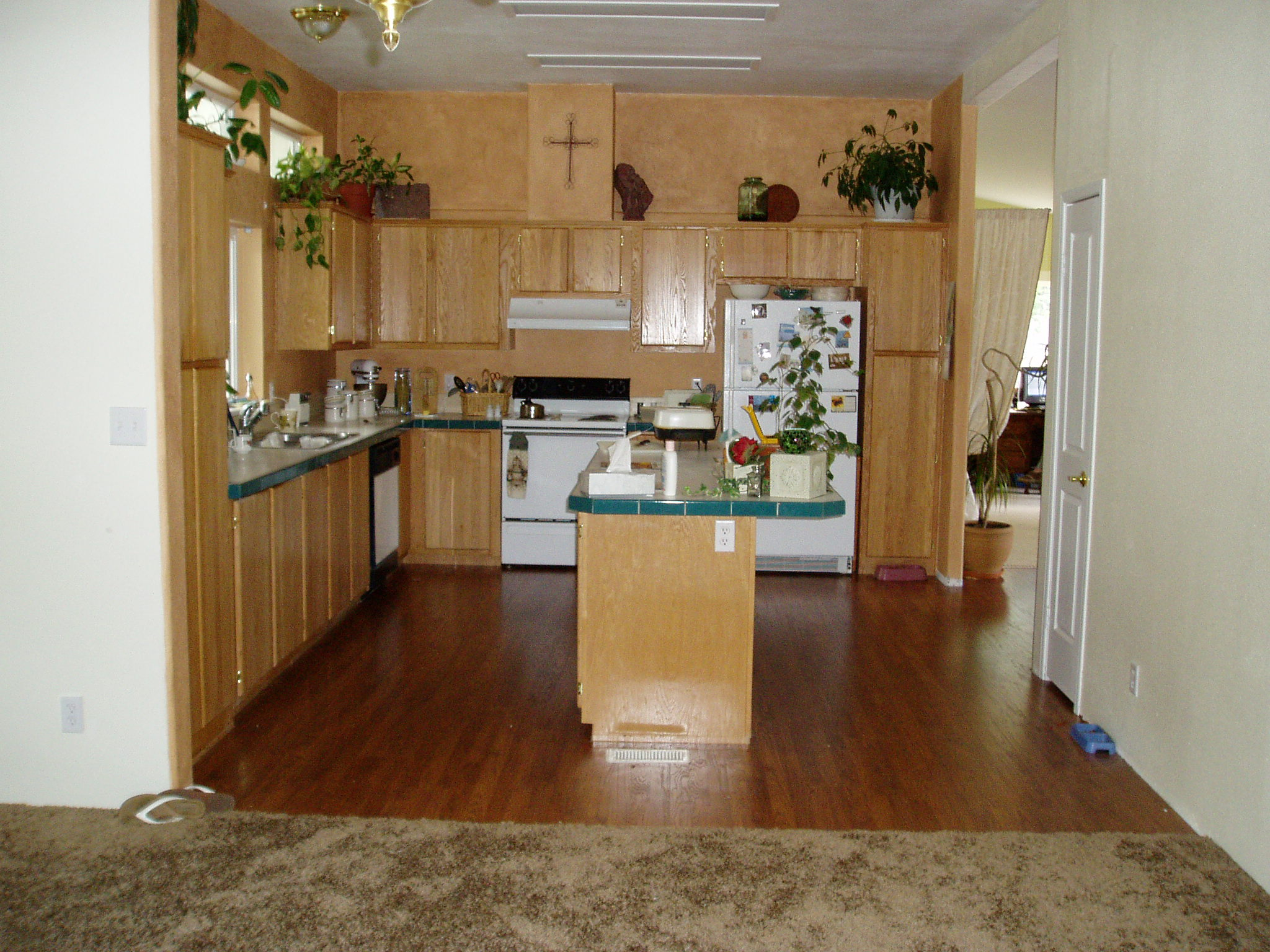 After the flooring and paint in 2004