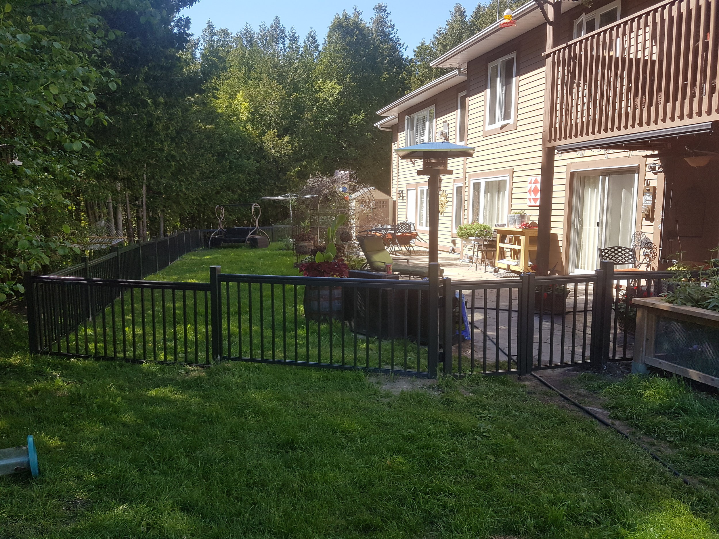 Beautiful Pet Enclosure - With Gates and No View Obstruction