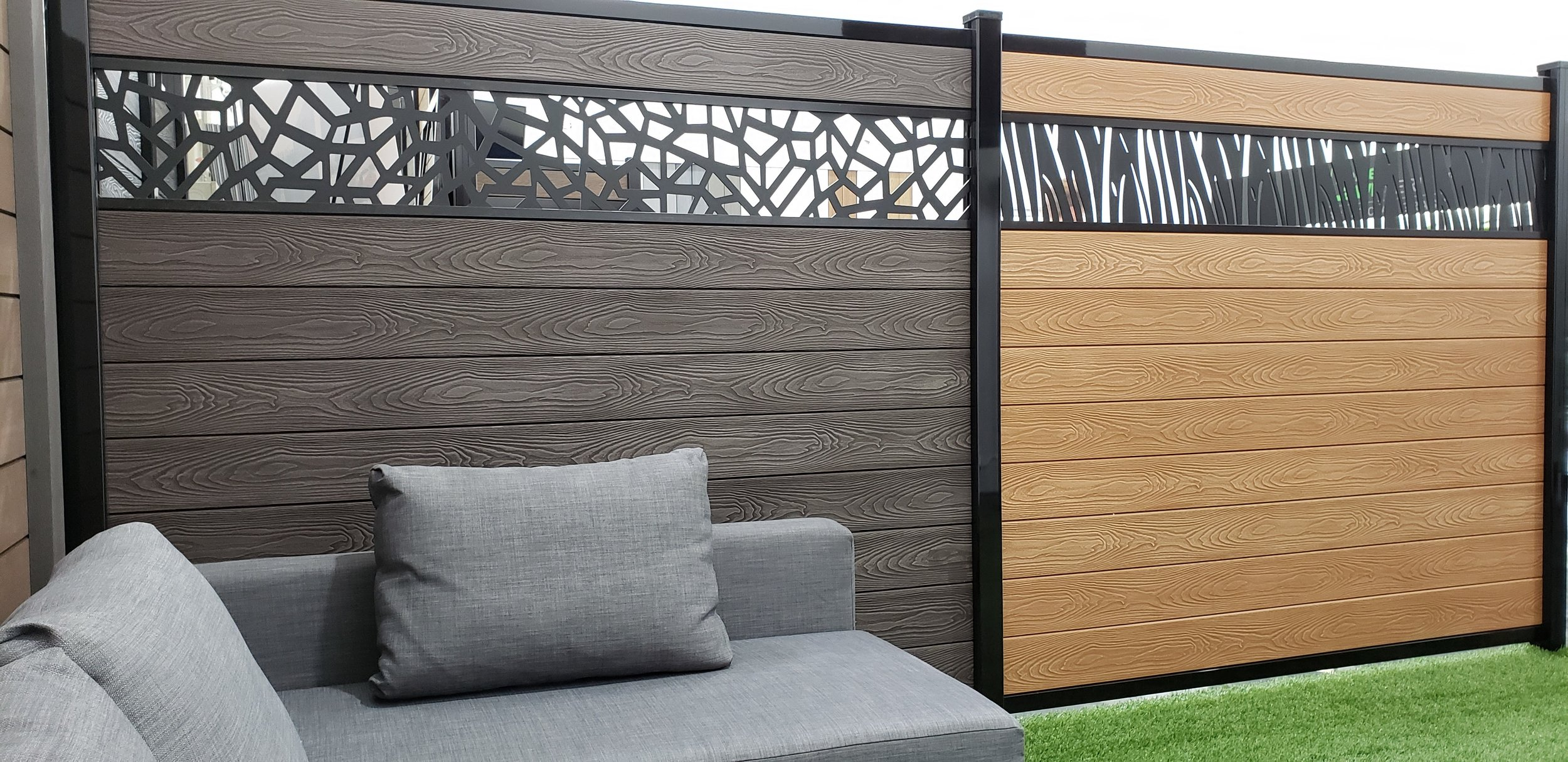 We Supply & Install Canadian Made Composite Decks & Fences, Don't Be Fooled By Cheap Imports From China! - We Are Proud And Confident In The Fact That We Offer The Highest Quality Composite Decks & Fences In Ontario, Guaranteed! Before You Purchase Your Next Composite Fence, You Are Obligated To Compare.