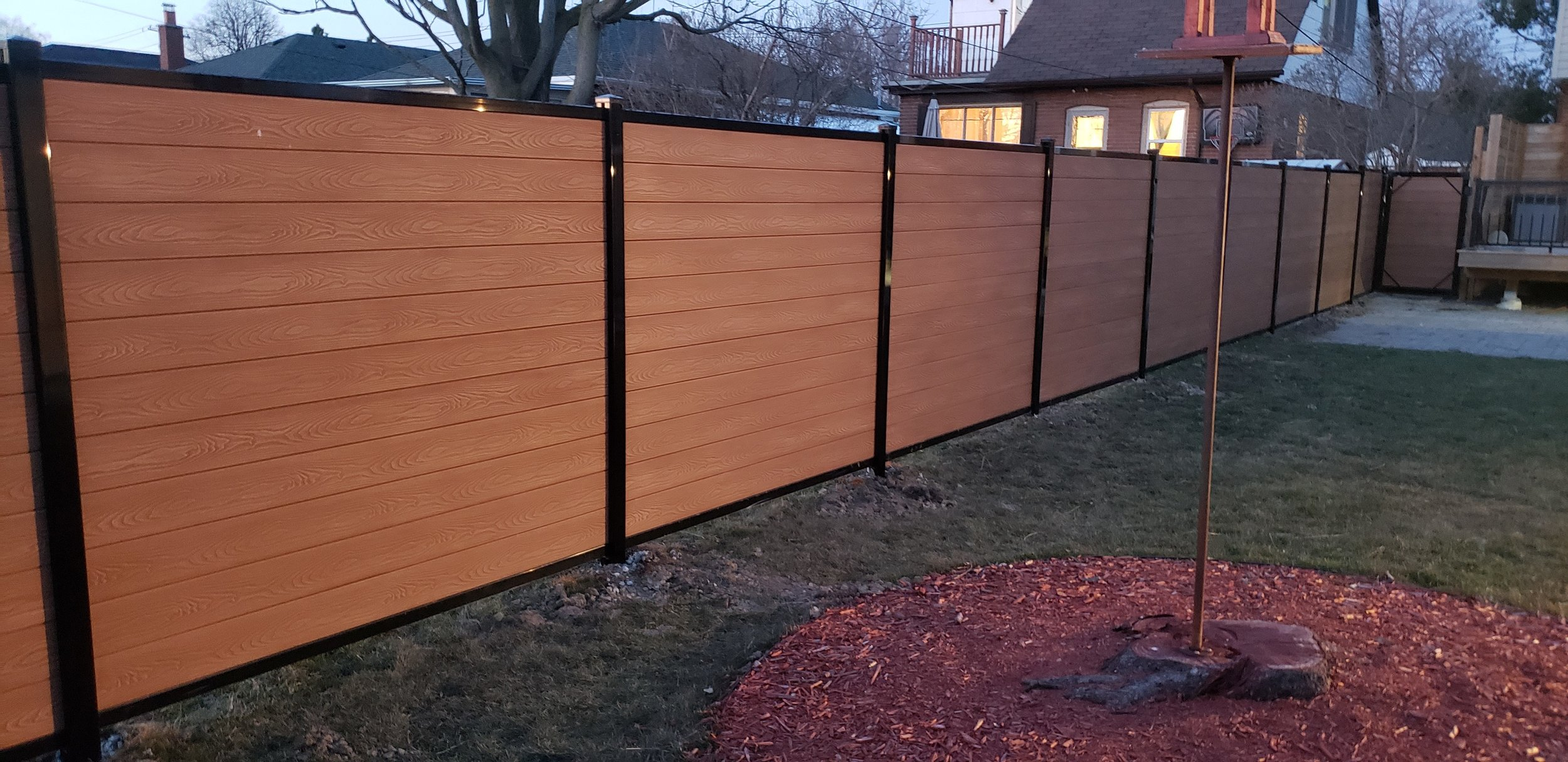 We take the hassle out of fencing using an innovative tongue and groove system that delivers the strength, the durability, and the undeniable good looks of clean, stylish fencing that fits anywhere. We know each customer has their own individual style and we are offering 8 colors for them to choose from. Beautify your property with our stylish and innovative Composite Fence System.