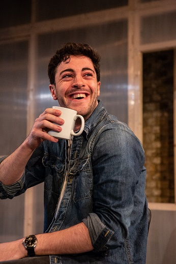 richard henderson in eyes to the wind at the arcola in april 2018 (PHOTO: ali wright).