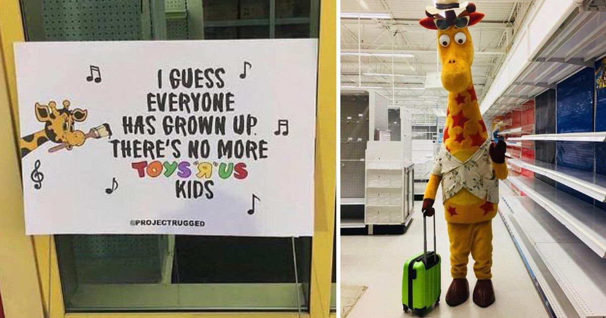 Toys R us is breaking our hearts...