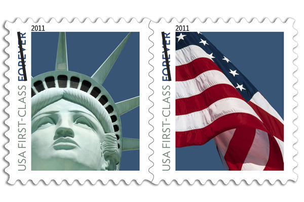 Forever Stamp from the United States Postal Service
