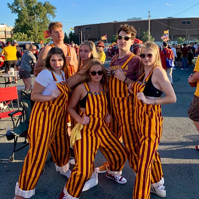 Gopheralls only 〽️