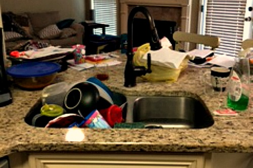 Picture of my messy house to prove I'm not making this stuff up...