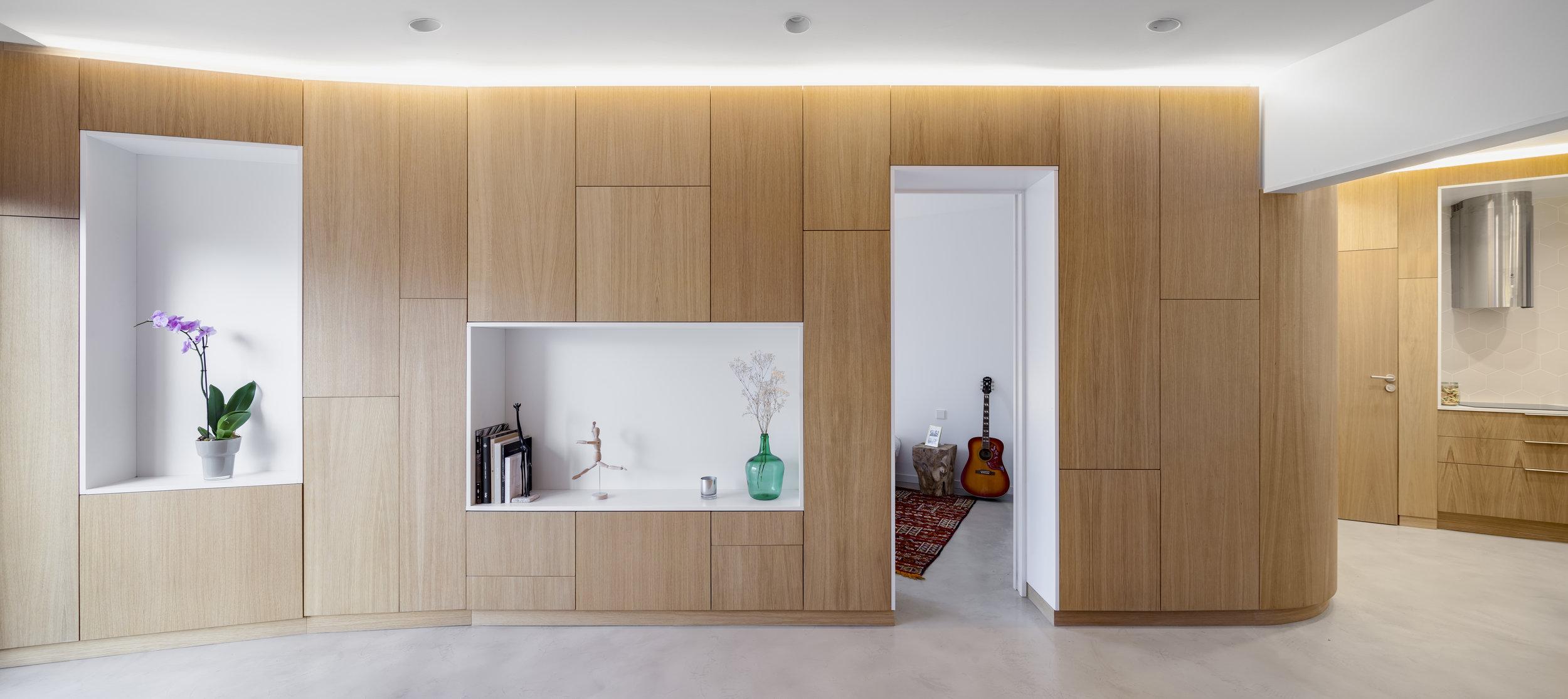 Interior vivienda reforma eixample