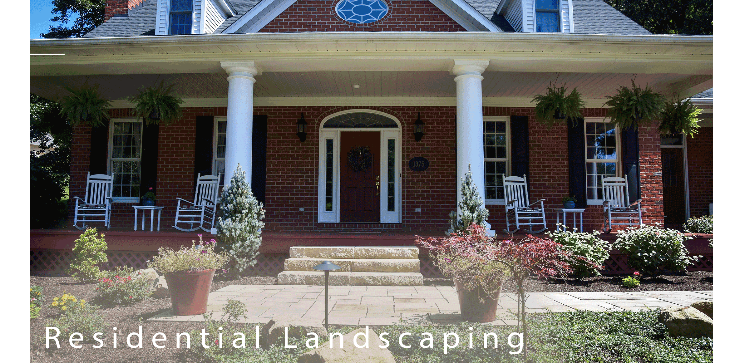 Residential Landscaping by Buckeye Landscapes and Design