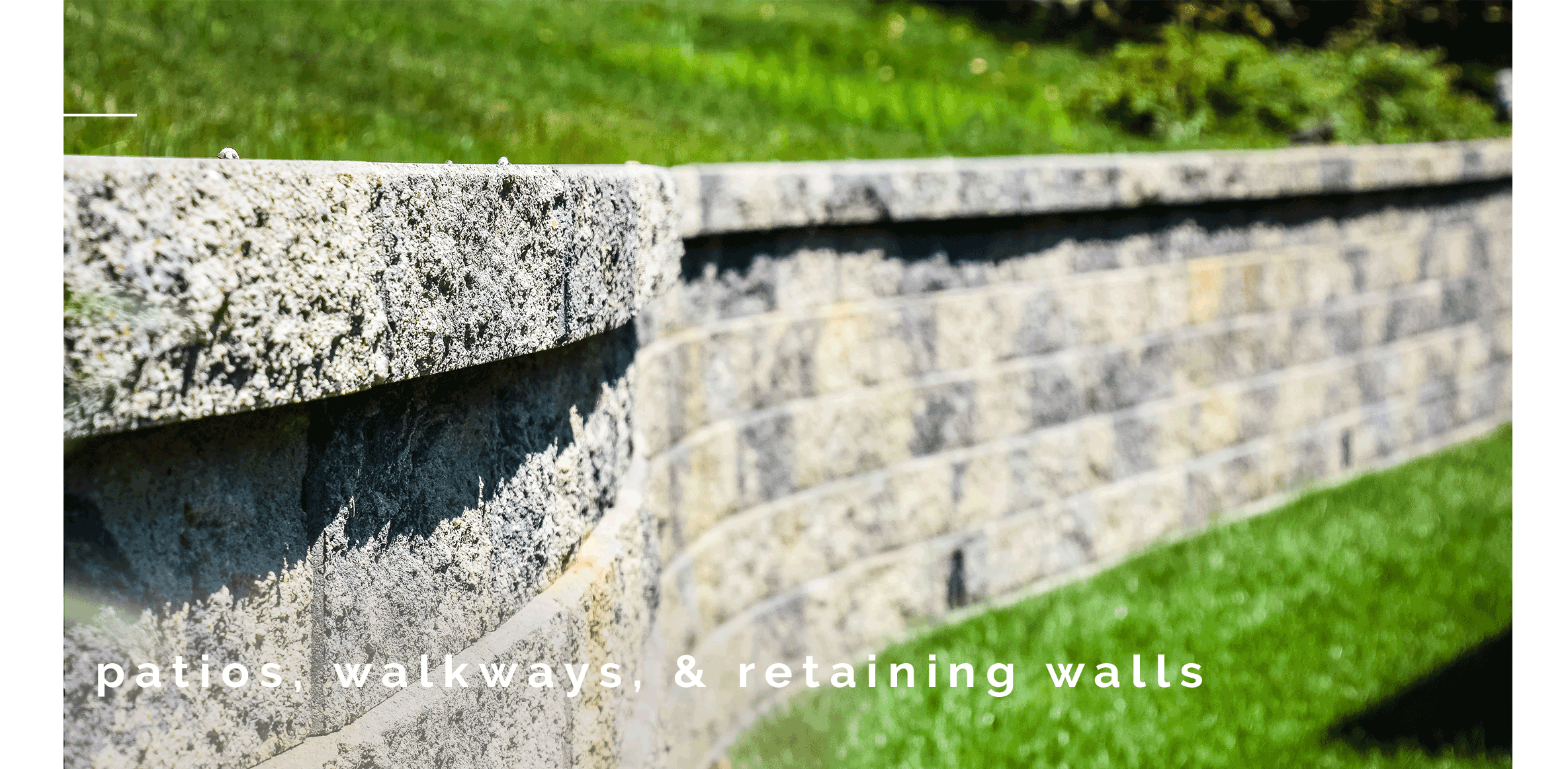 Patios, walkways, and retaining walls by Buckeye Landscapes and Design