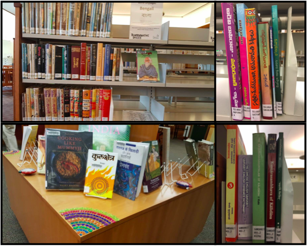 Indian Book Collection thanks to IAL's Library Committee