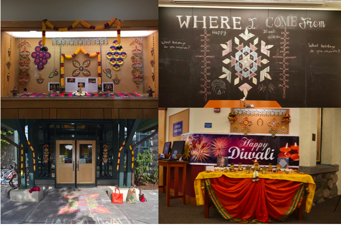 Spreading Diwali awareness in town through a multitude of educative activities.