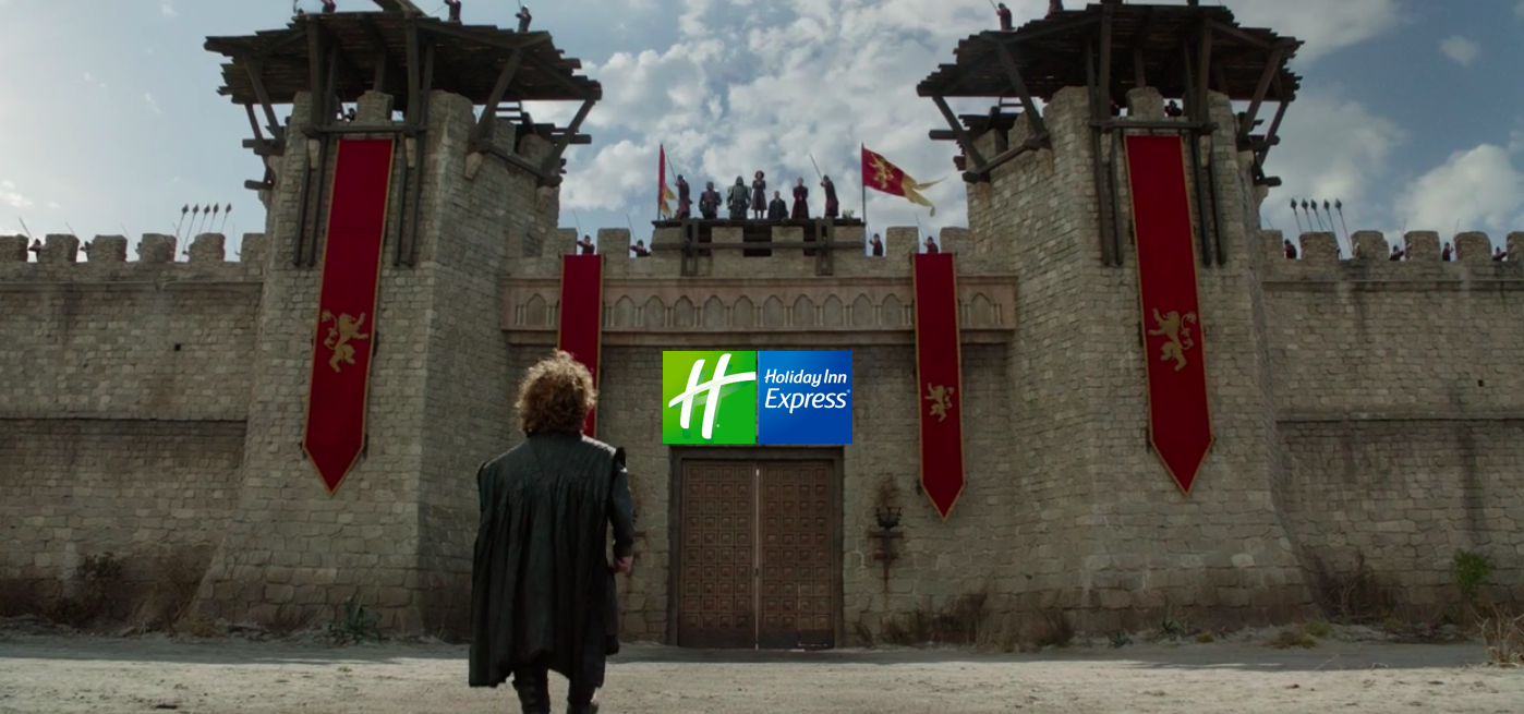 """Holiday Inn Express announced the new """"Fortnight Staycation Package"""" as the Official Hotel Partner of Game of Thrones."""