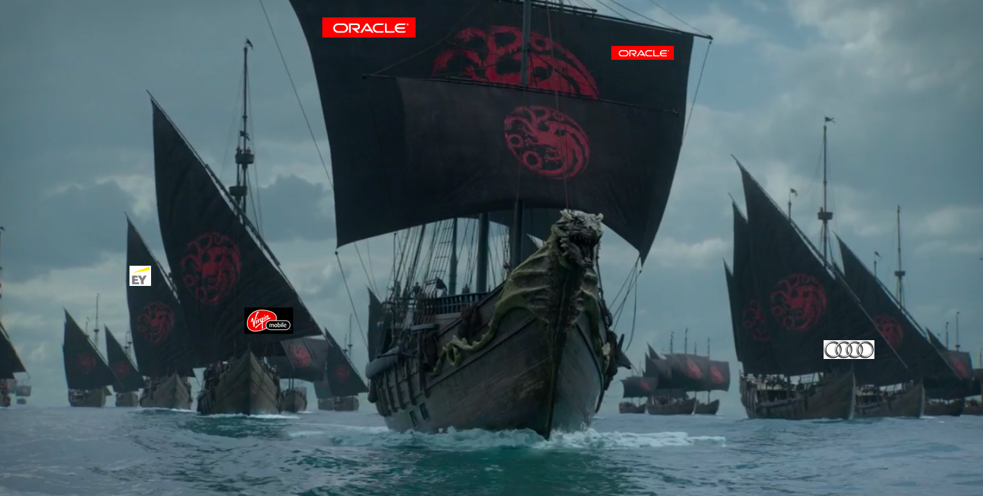 Oracle, Virgin Mobile and others compete in The Seven Kingdoms Cup.