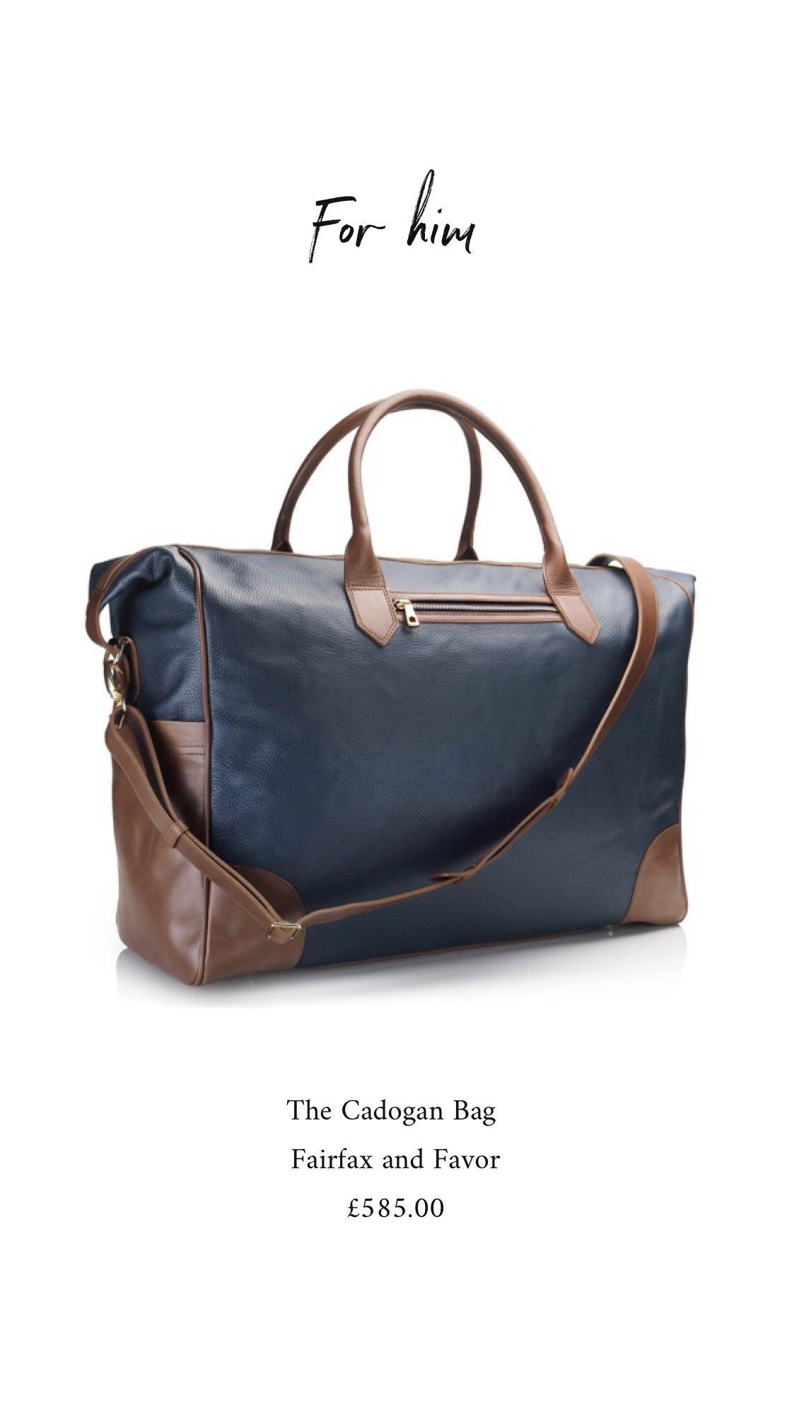Fairfax and Favor Bag