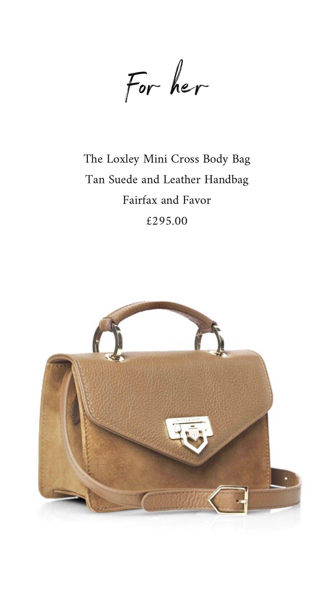 Fairfax and Favor Handbag