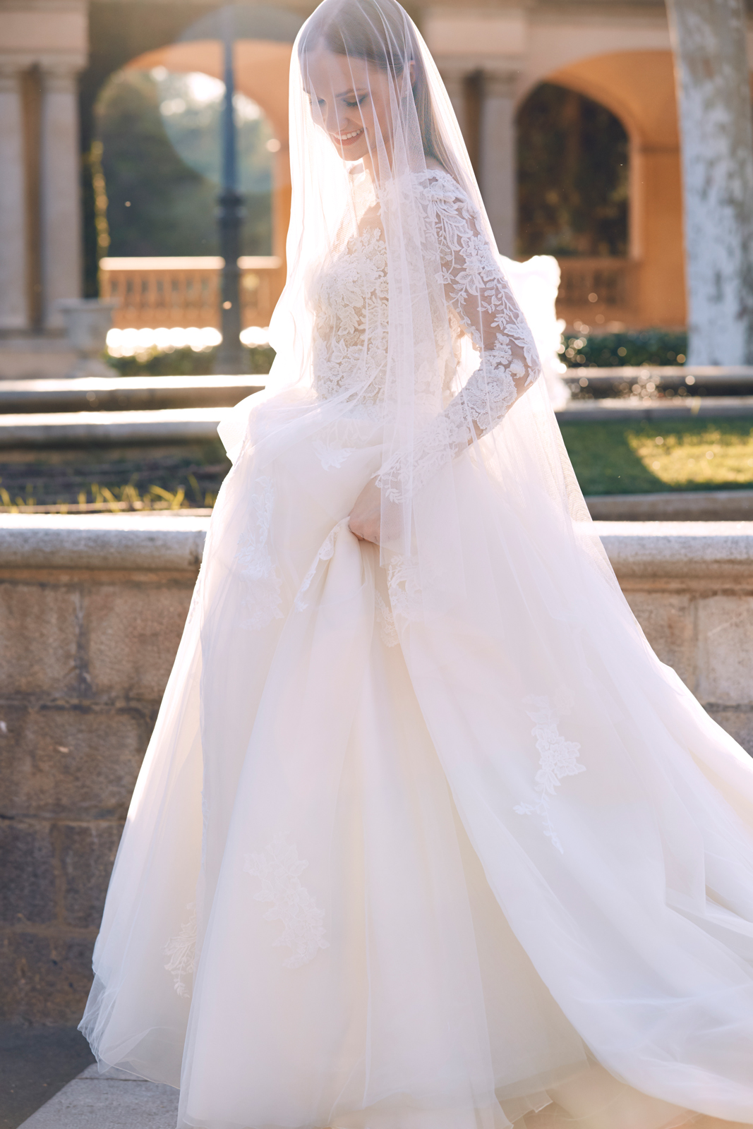 la sposa sleeves wedding dress.jpg