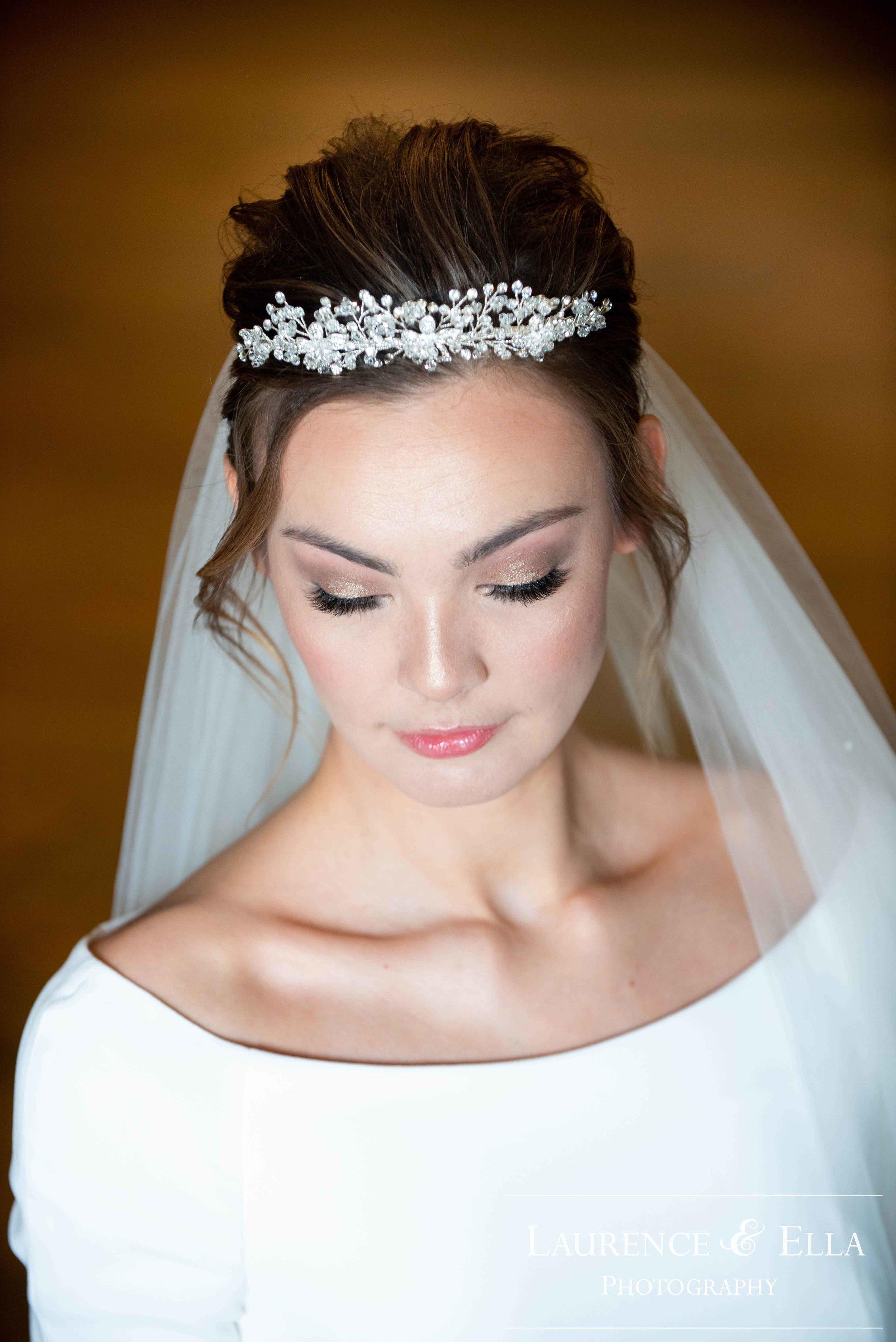 Opaline princess tiara - Laurence & Ella Photography