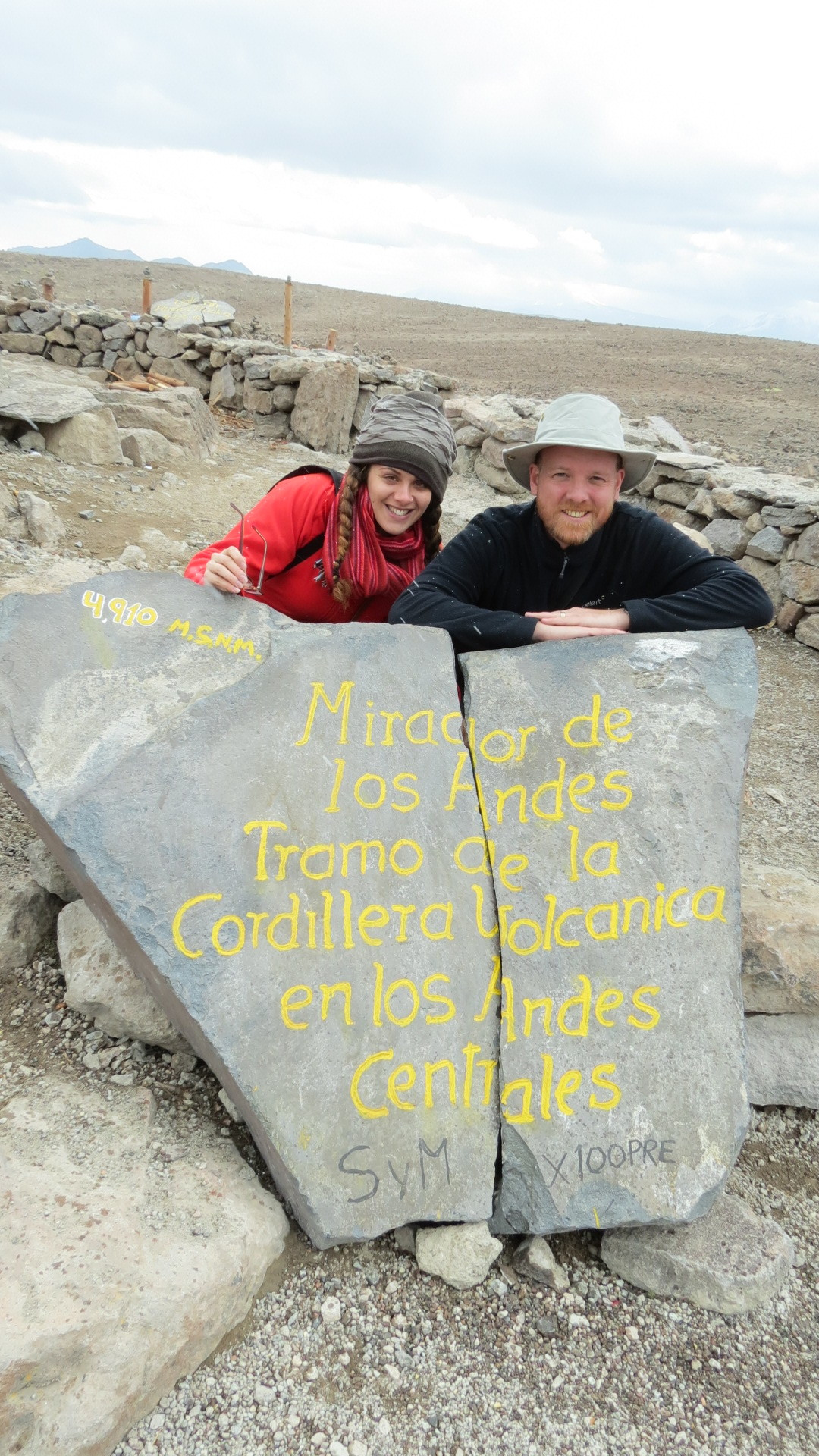 Honeymooning in Peru at 5,000m above sea level