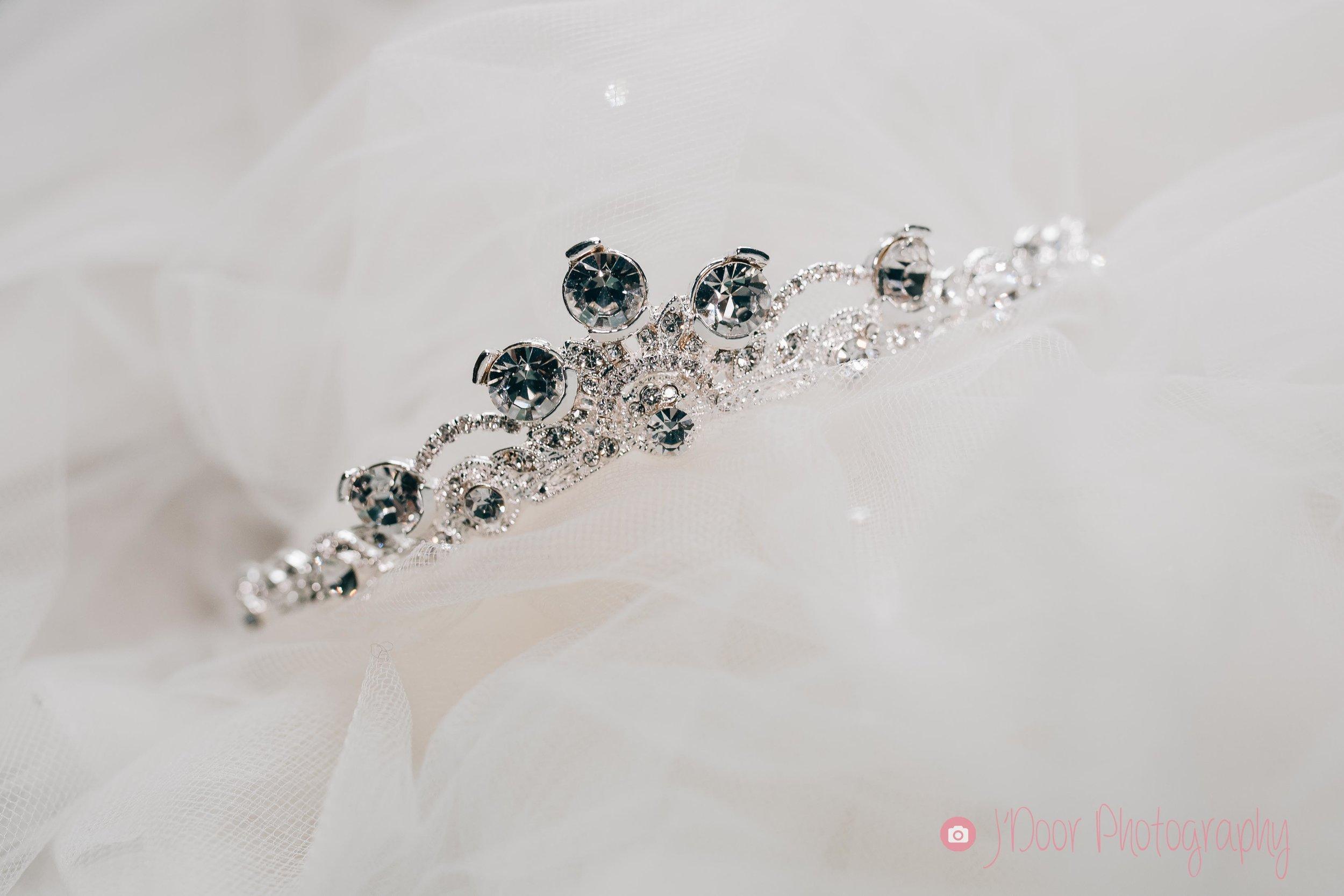 Delicate small tiara