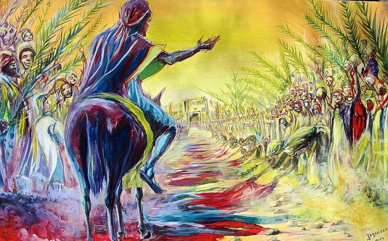 Palm Sunday  by Evans Yegon
