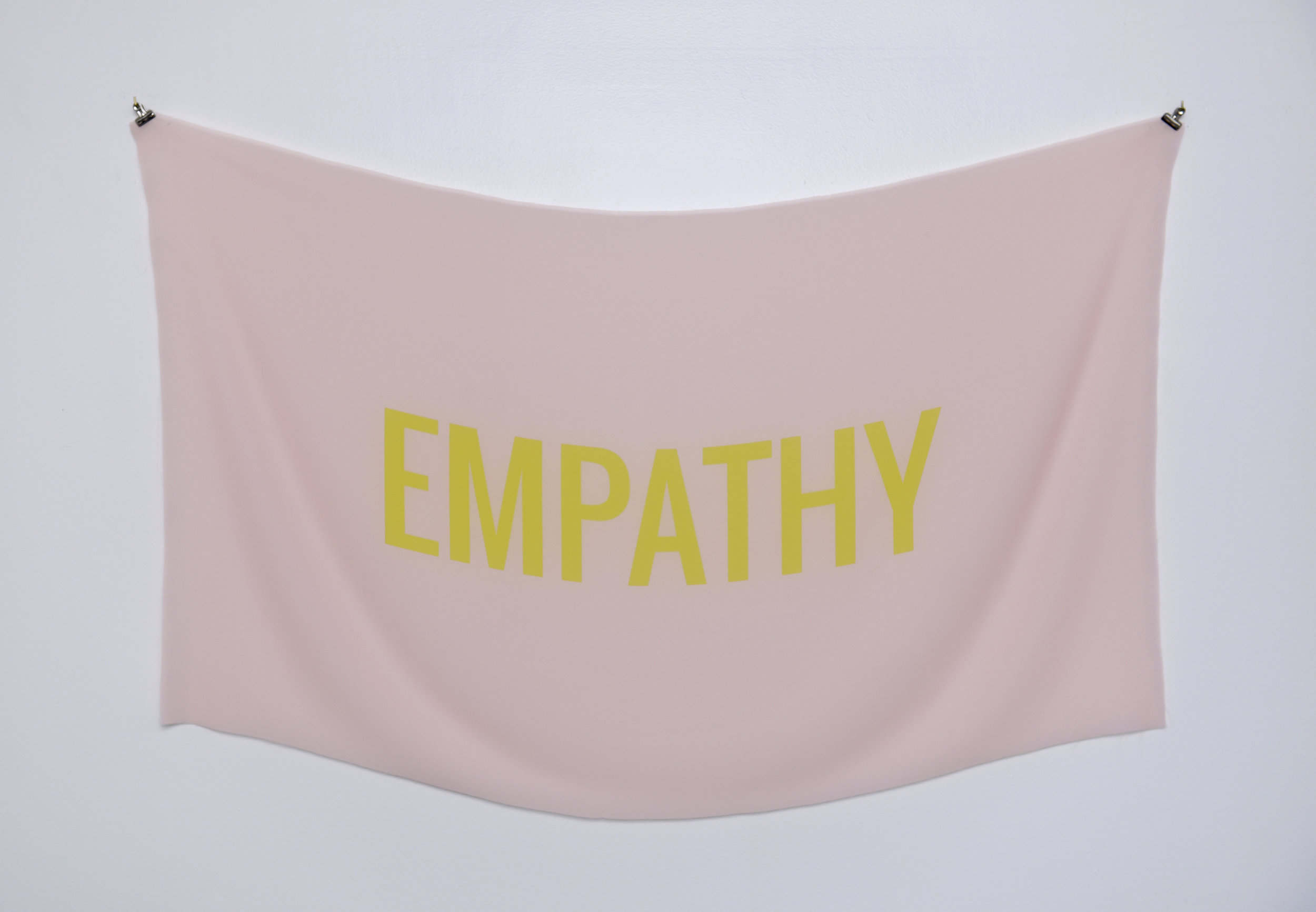 Empathy , Inkjet on Muslin, Hardware