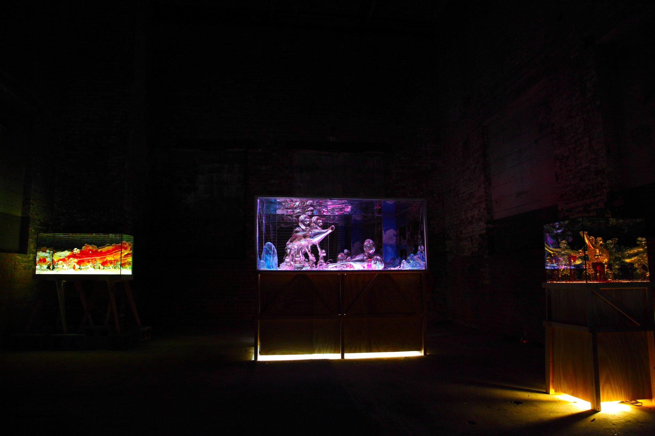 Installation View, The Chimney. Brooklyn, NY. 2015.