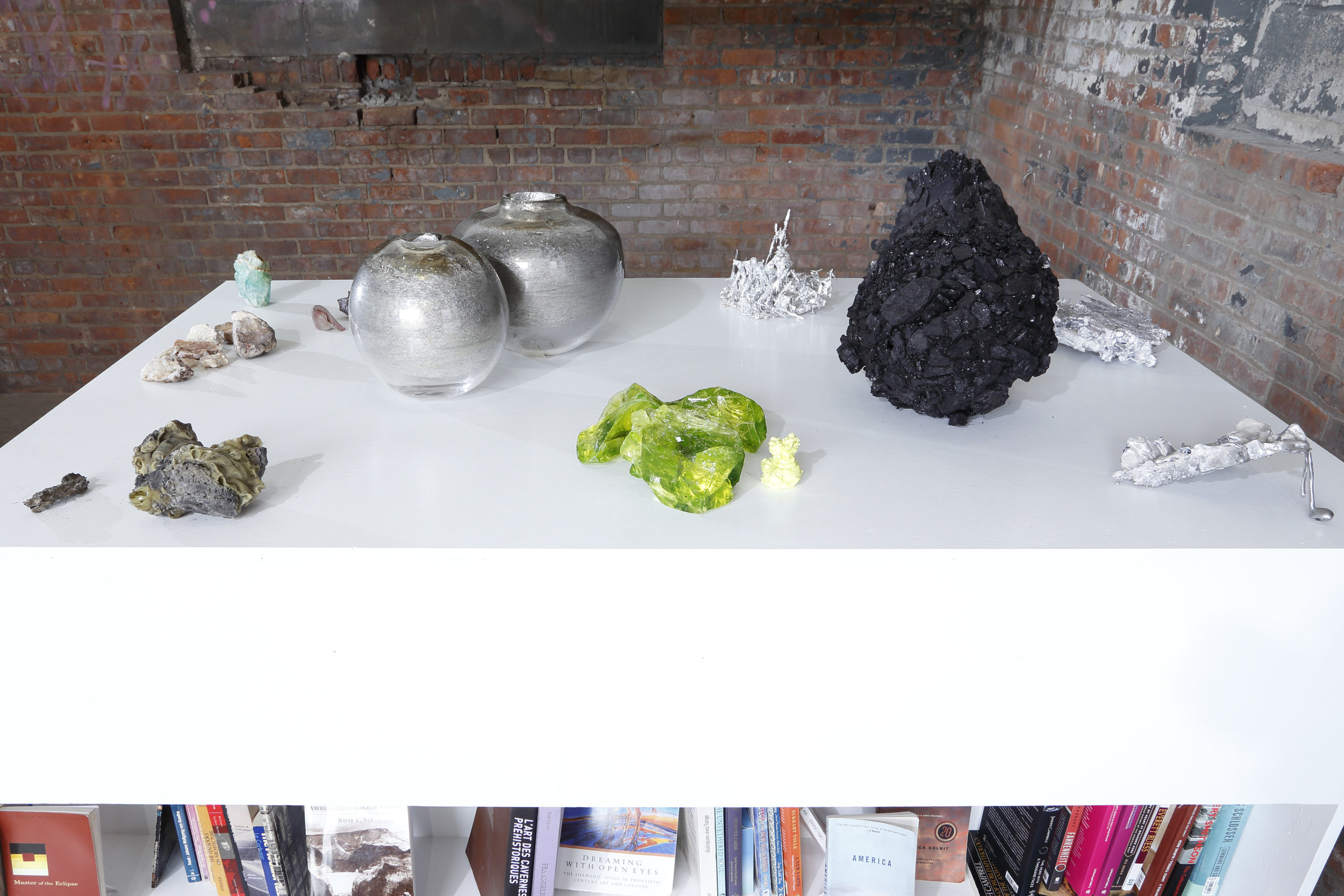 Installation view, The Chimney NYC, 2018