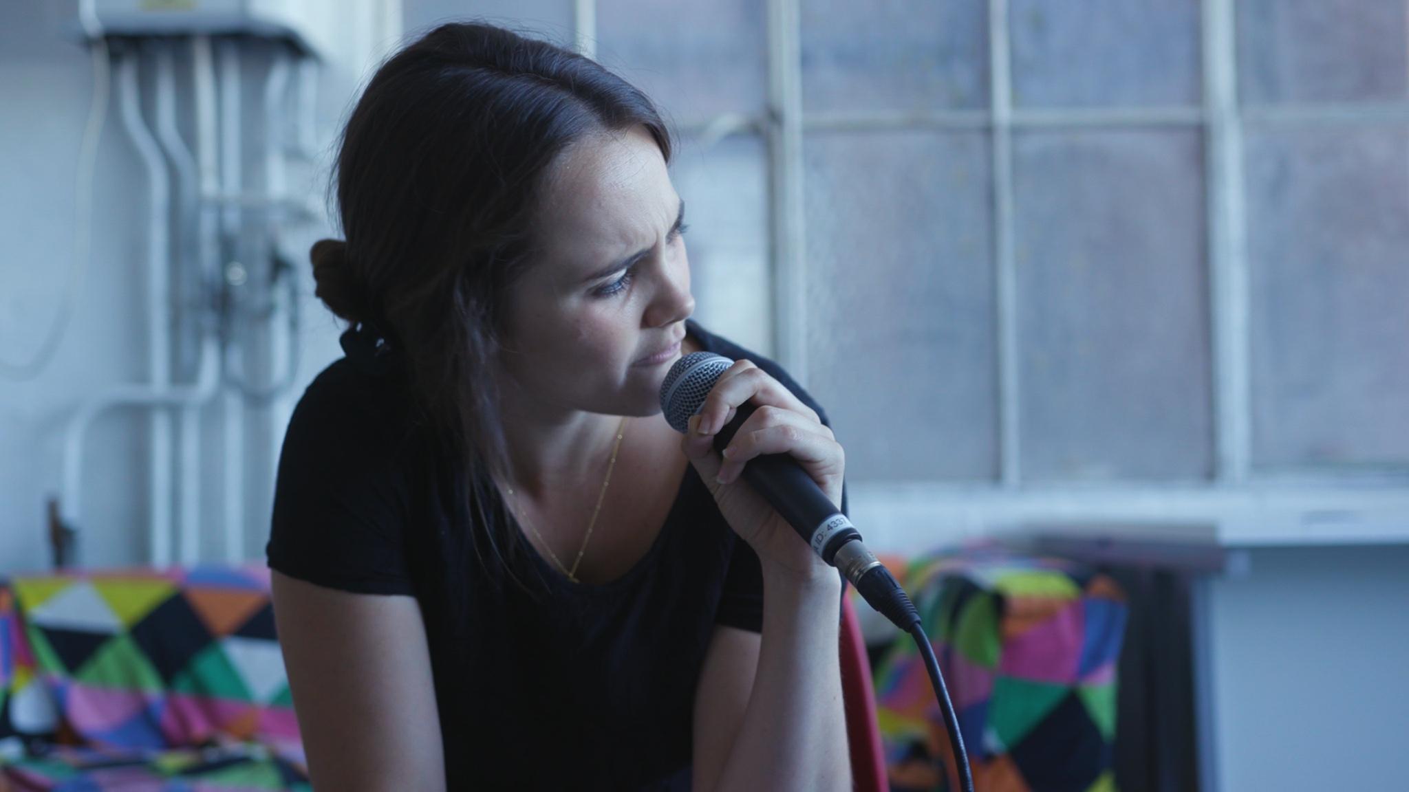 Rehearsal shot: Jennie Eggleton (Photography: Maxim Levy)
