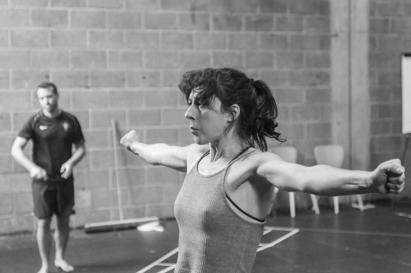 Living Latino  rehearsal shot (Emma Zadow)