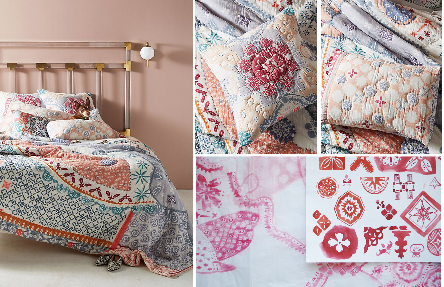 Anthropologie Home - Laterza Quilt - Spring 2018