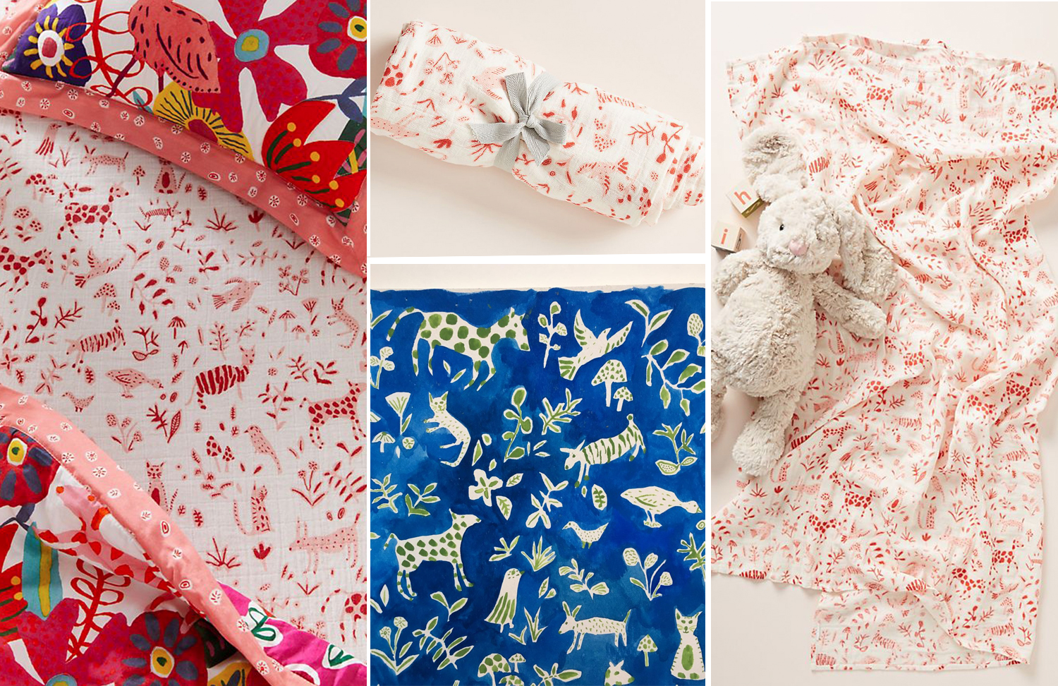 Anthropologie Kids - Joey Sheets and Swaddle - Winter 2018