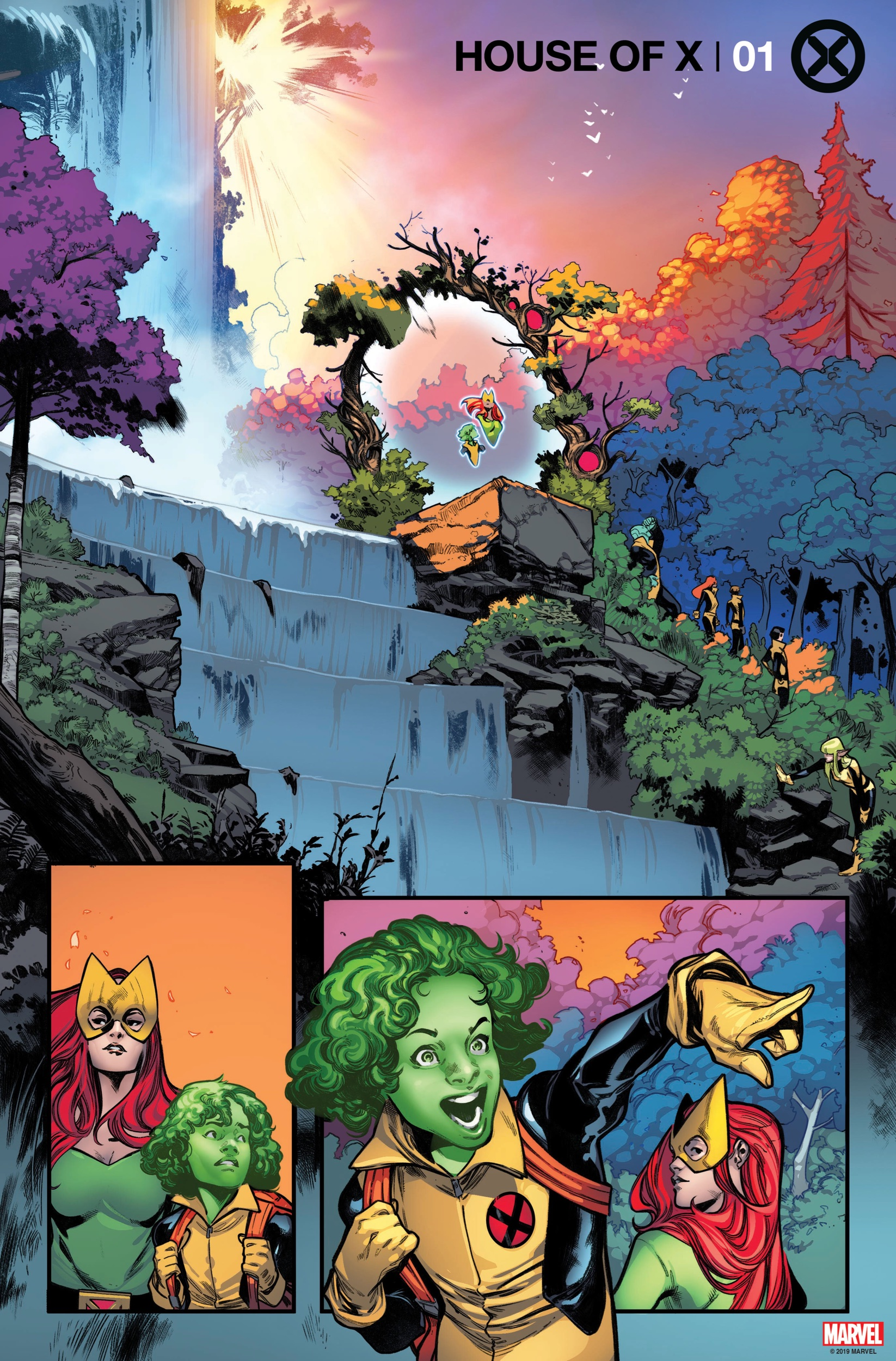 House of X #1 interiors