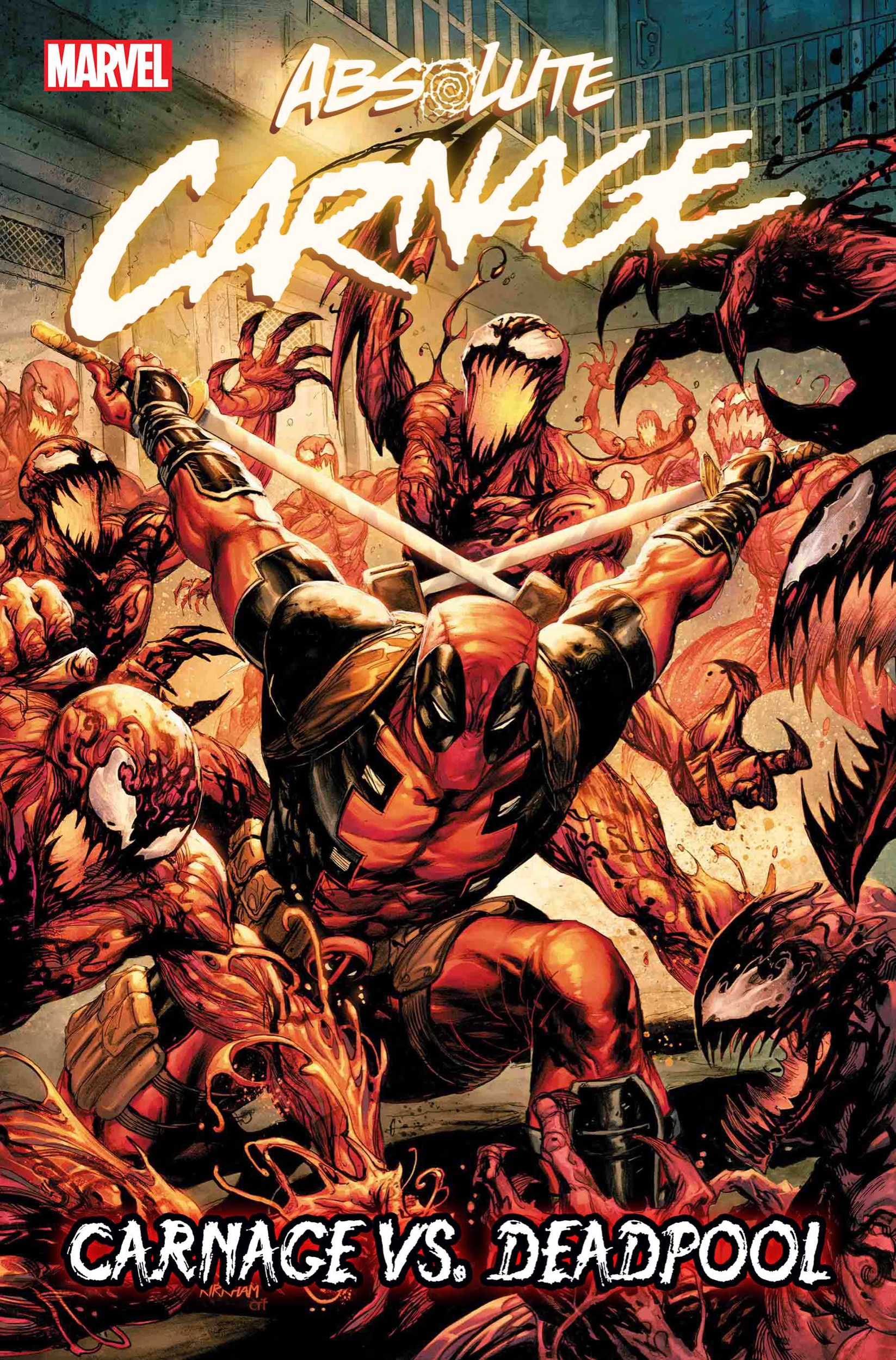 Absolute Carnage: Carnage vs. Deadpool #1 cover