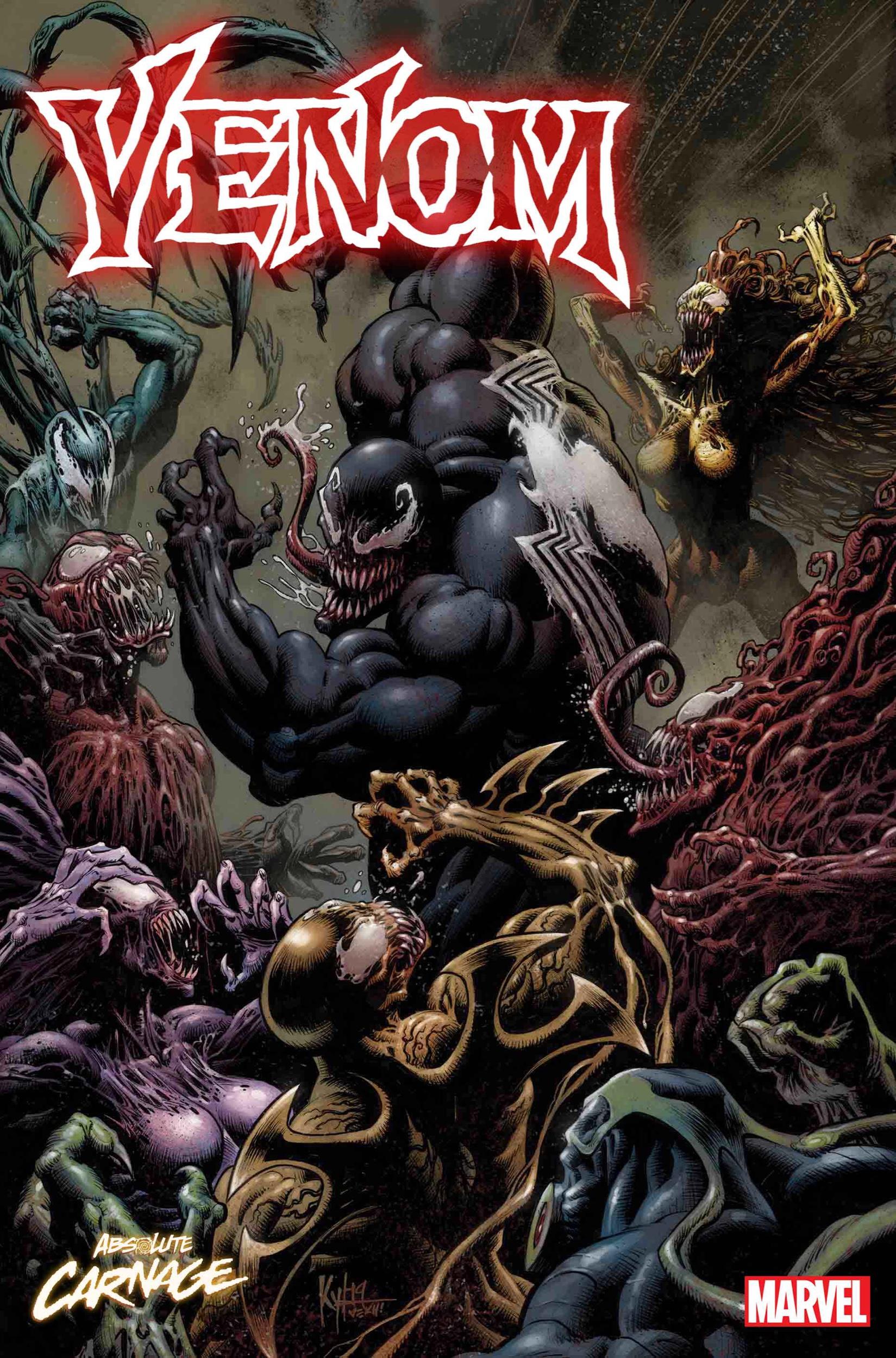 Venom #17 cover