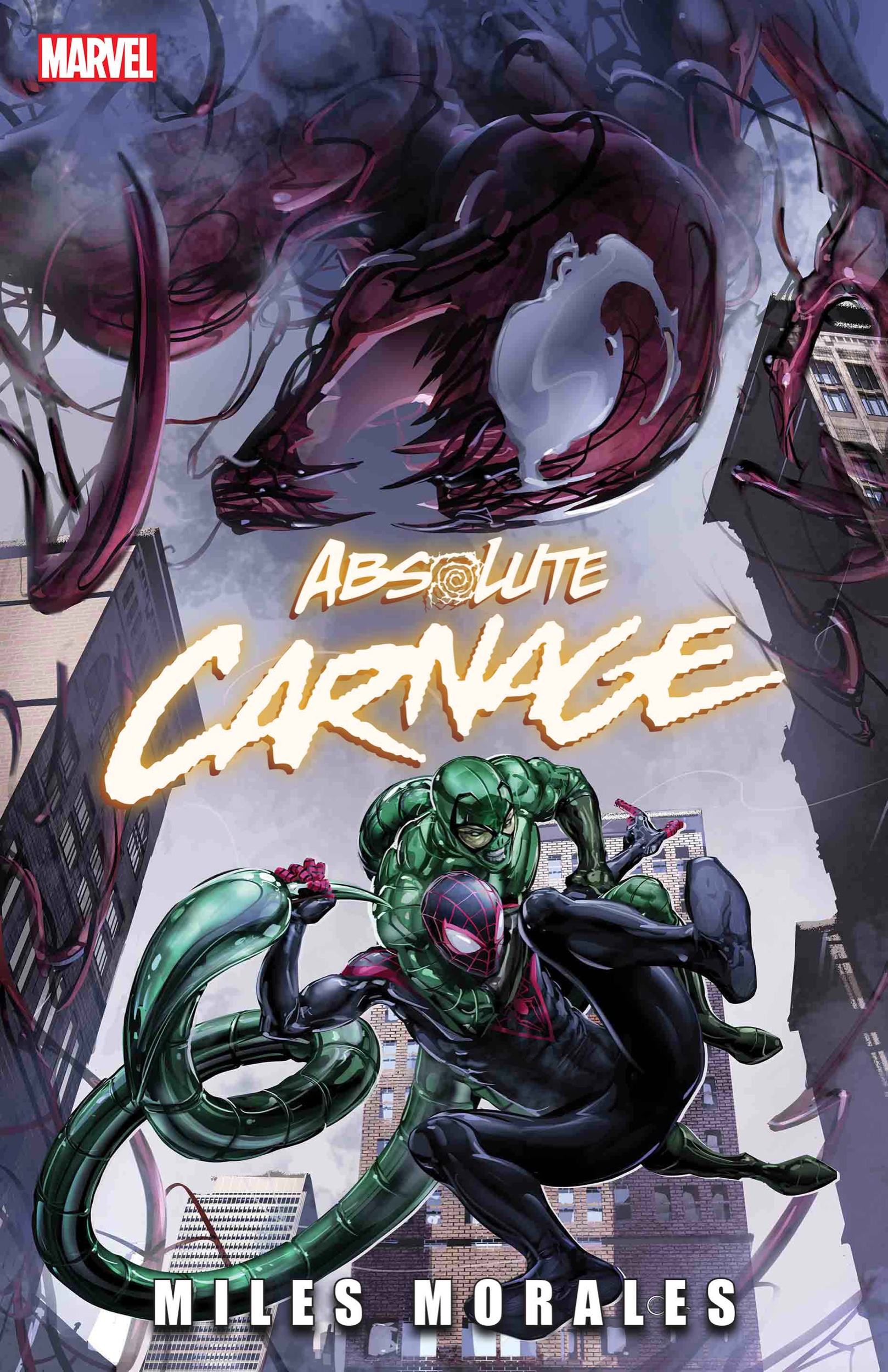 Absolute Carnage: Miles Morales #1 cover