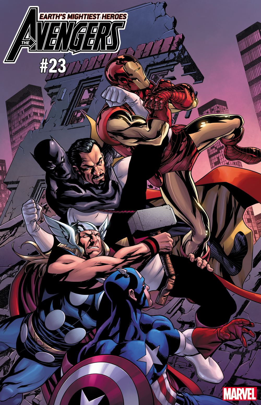 Avengers #23 cover ft. Count Nefaria