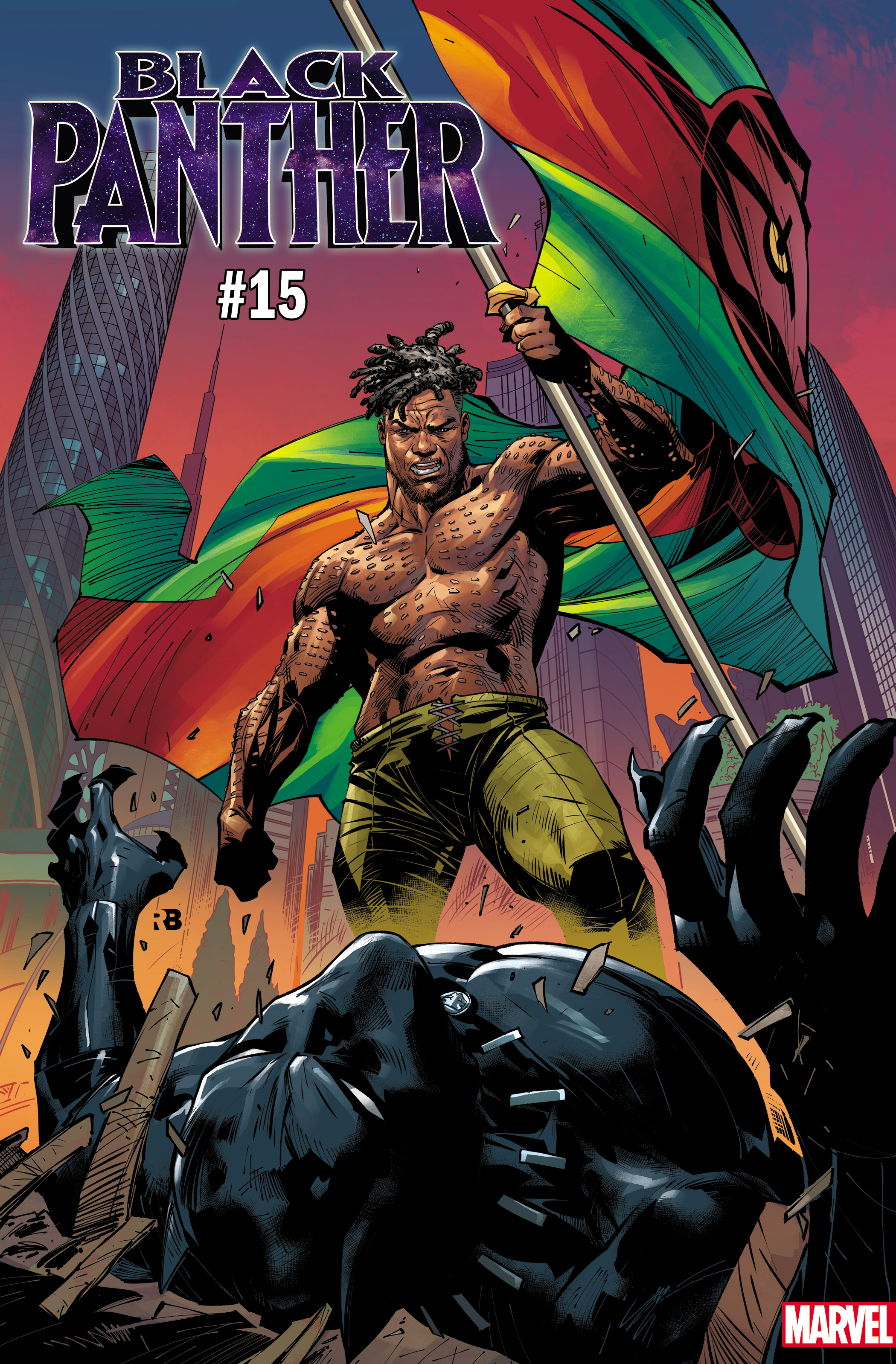 Black Panther #15 cover ft. Killmonger