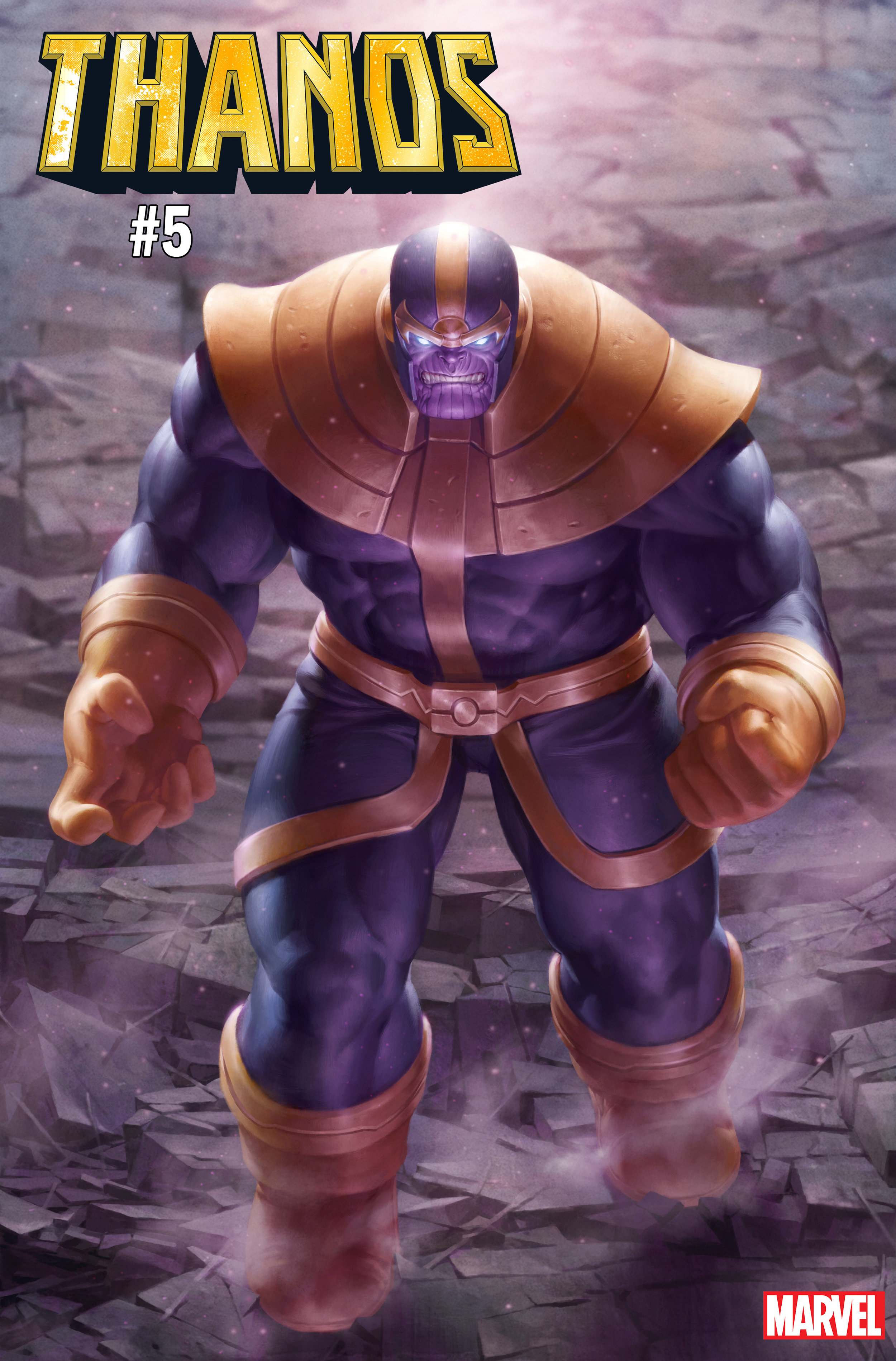 Thanos #5 cover ft. Thanos