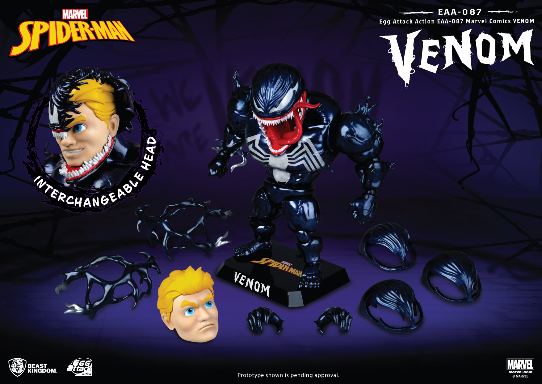 We are Eggom: Beast Kingdom bring an exclusive Venom Egg