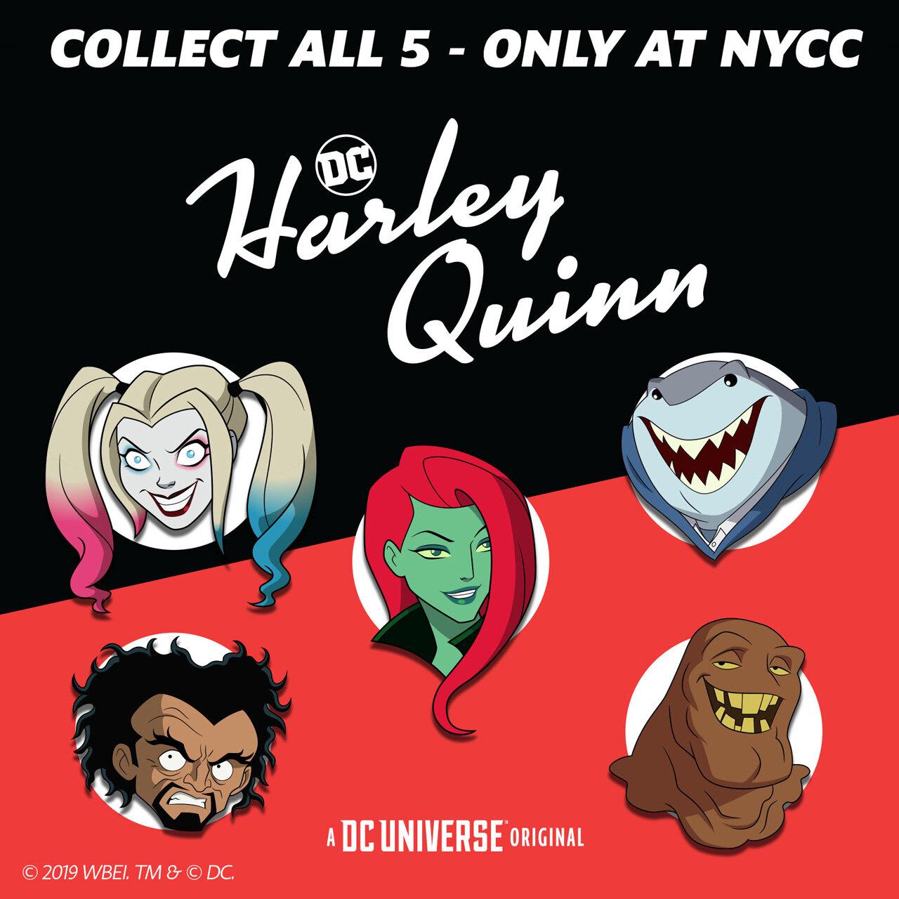 DCU Harley Quinn Pins NYCC Exclusive.jpg