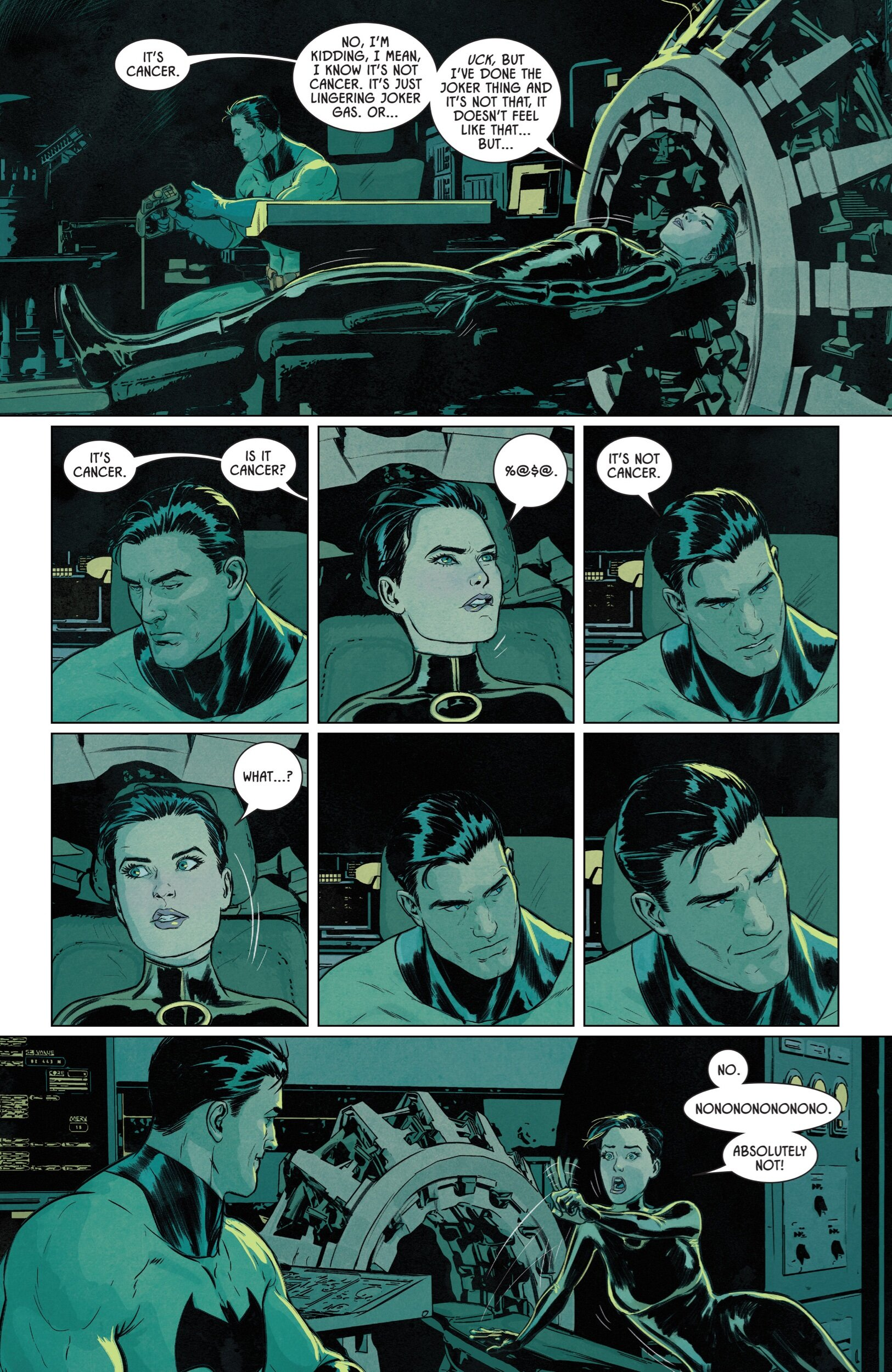 """Selina Kyle is feeling queasy in a first look at """"Catwoman 80th ..."""