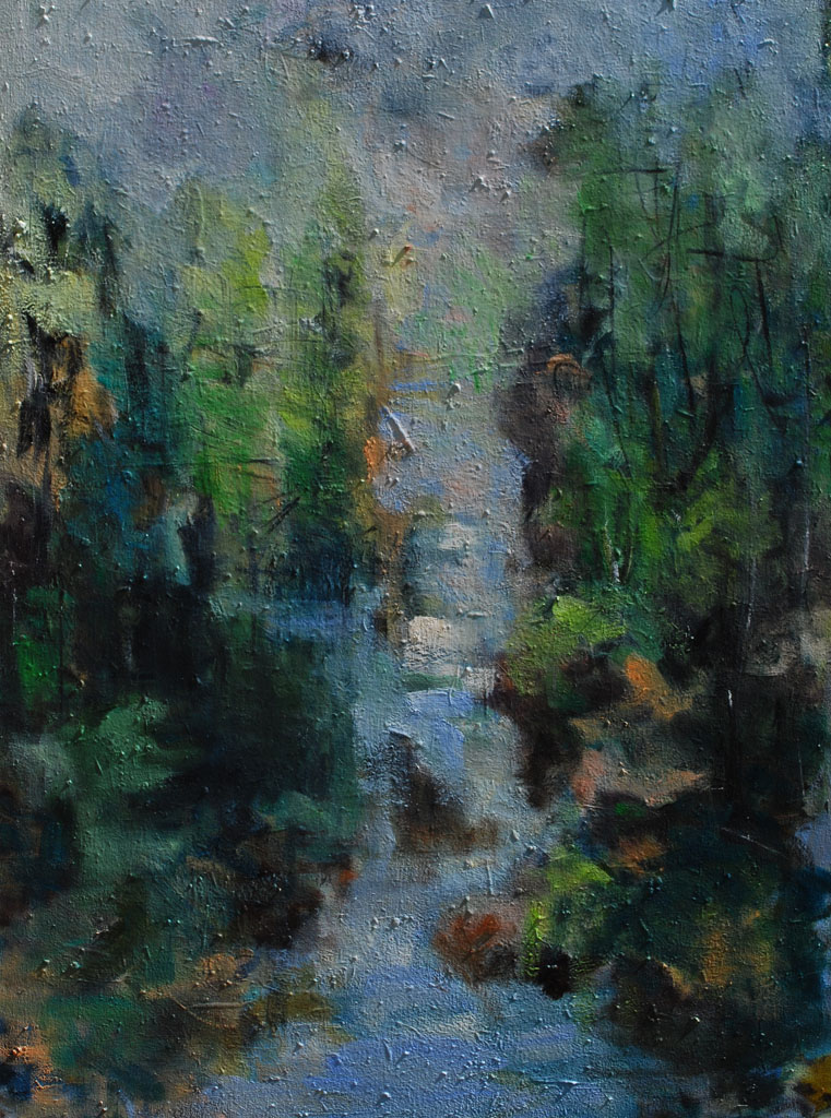 Cold Moving Stream- SOLD